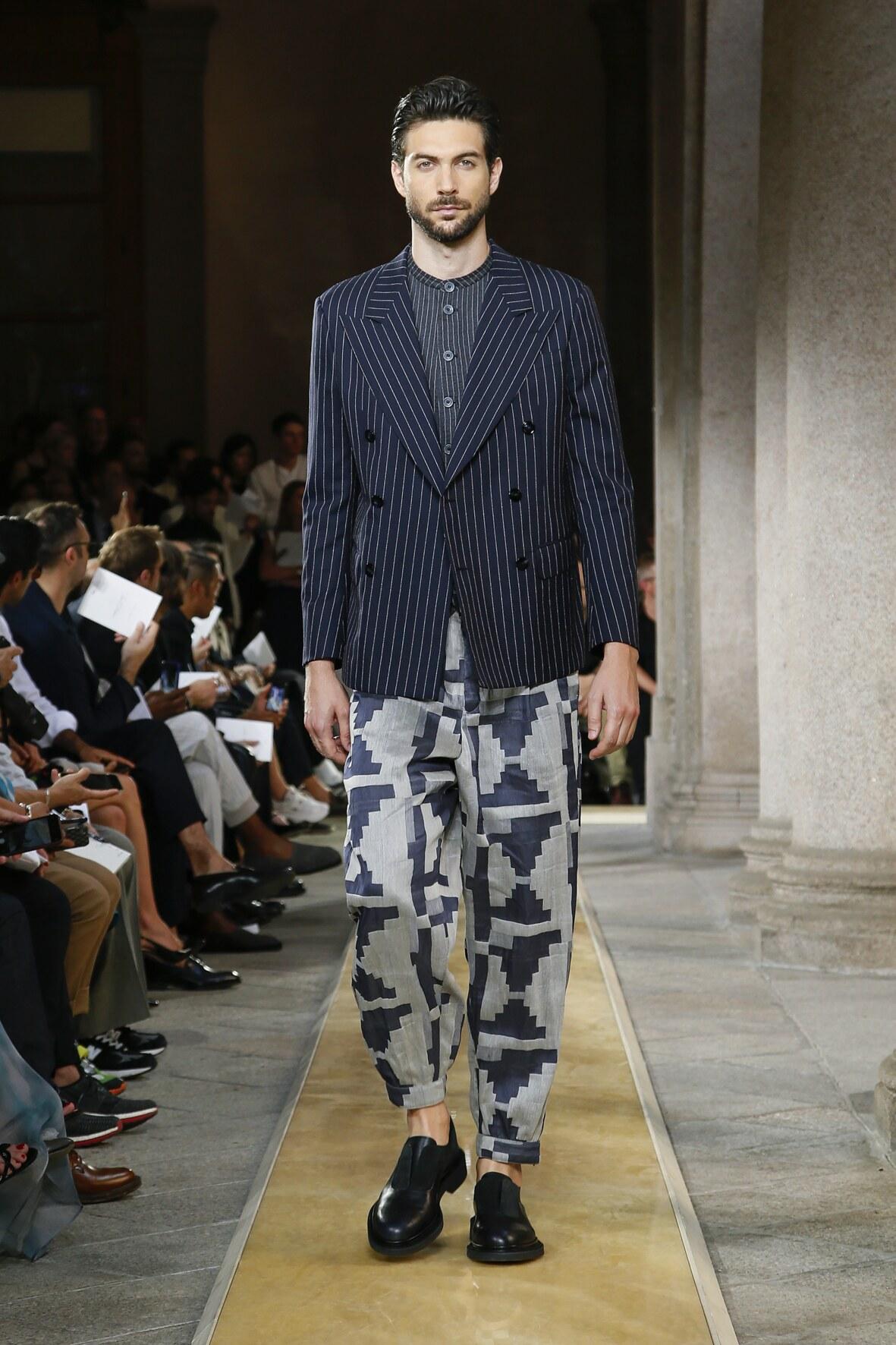 2020 Catwalk Giorgio Armani