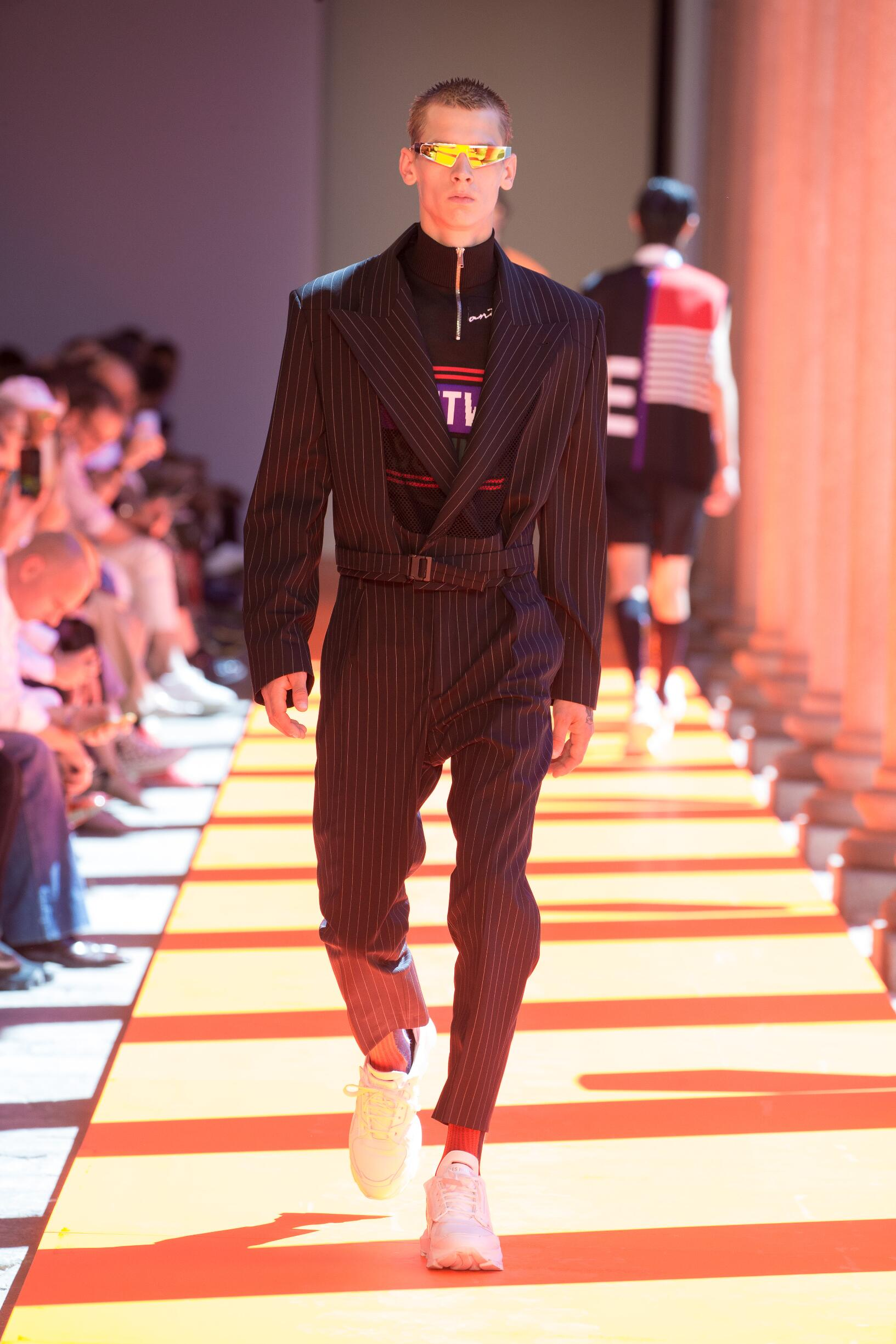 2020 Catwalk Les Hommes Man Fashion Show Summer