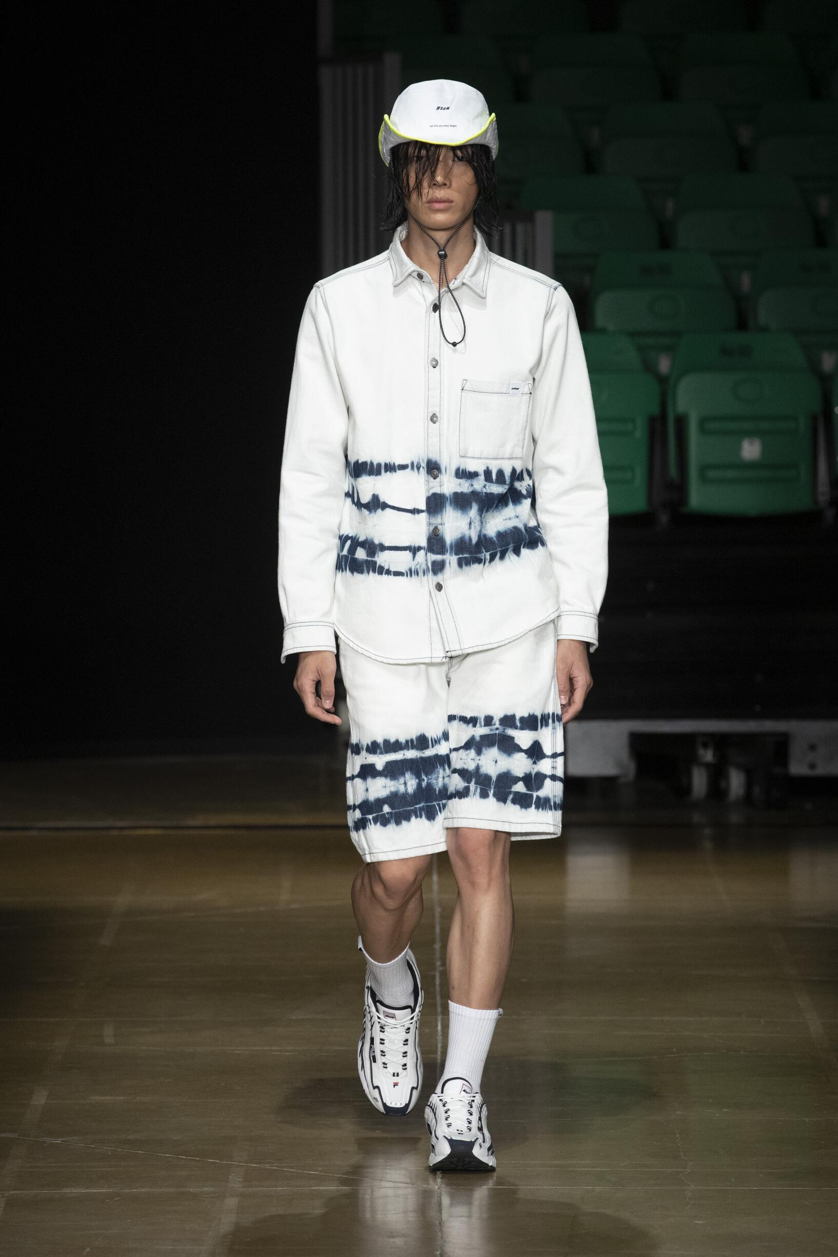 2020 Catwalk MSGM Man Fashion Show Summer
