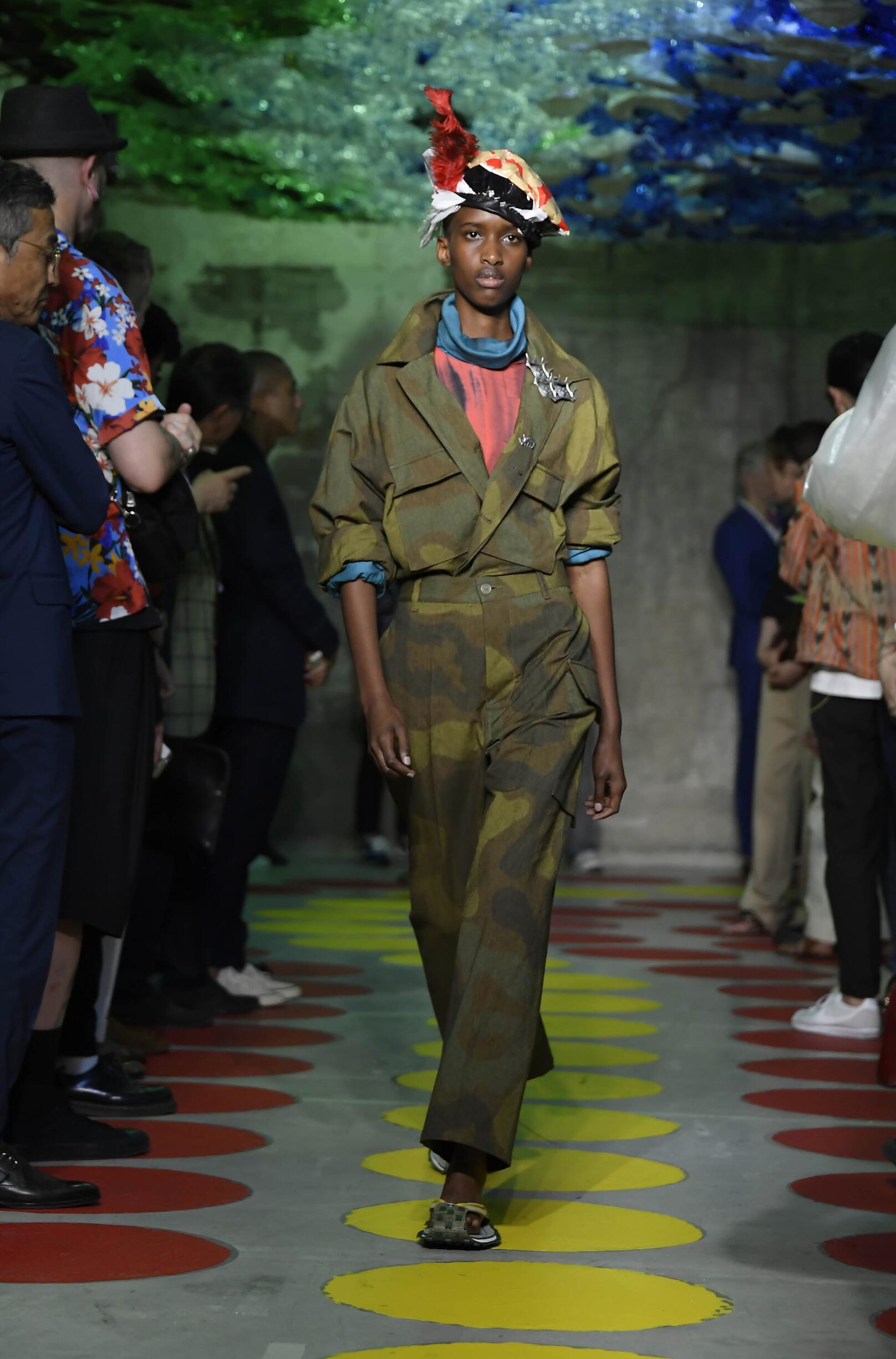 2020 Catwalk Marni Fashion Show Summer
