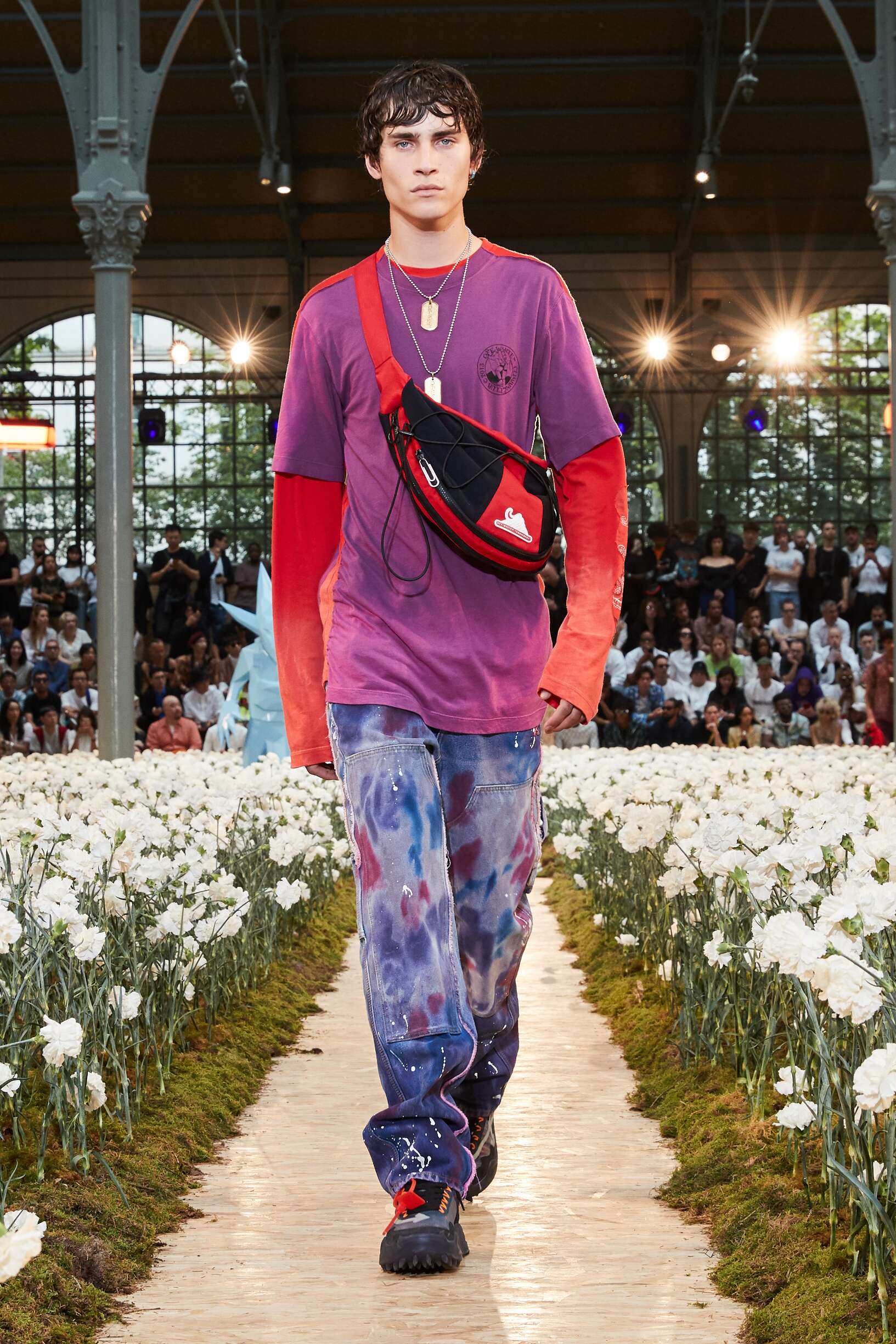 2020 Catwalk Off White c/o Virgil Abloh Summer Man Collection