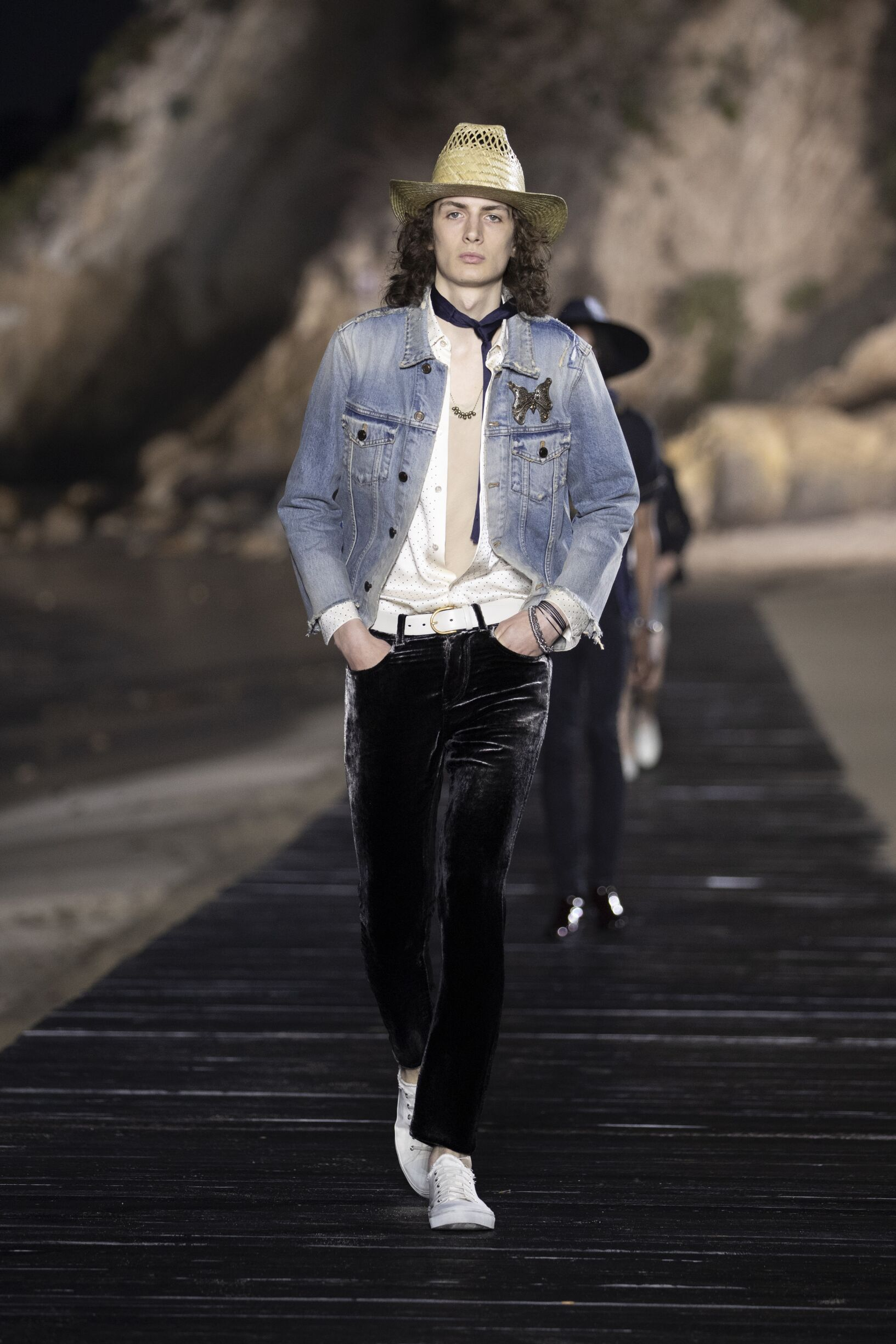 2020 Catwalk Saint Laurent Man Fashion Show Summer