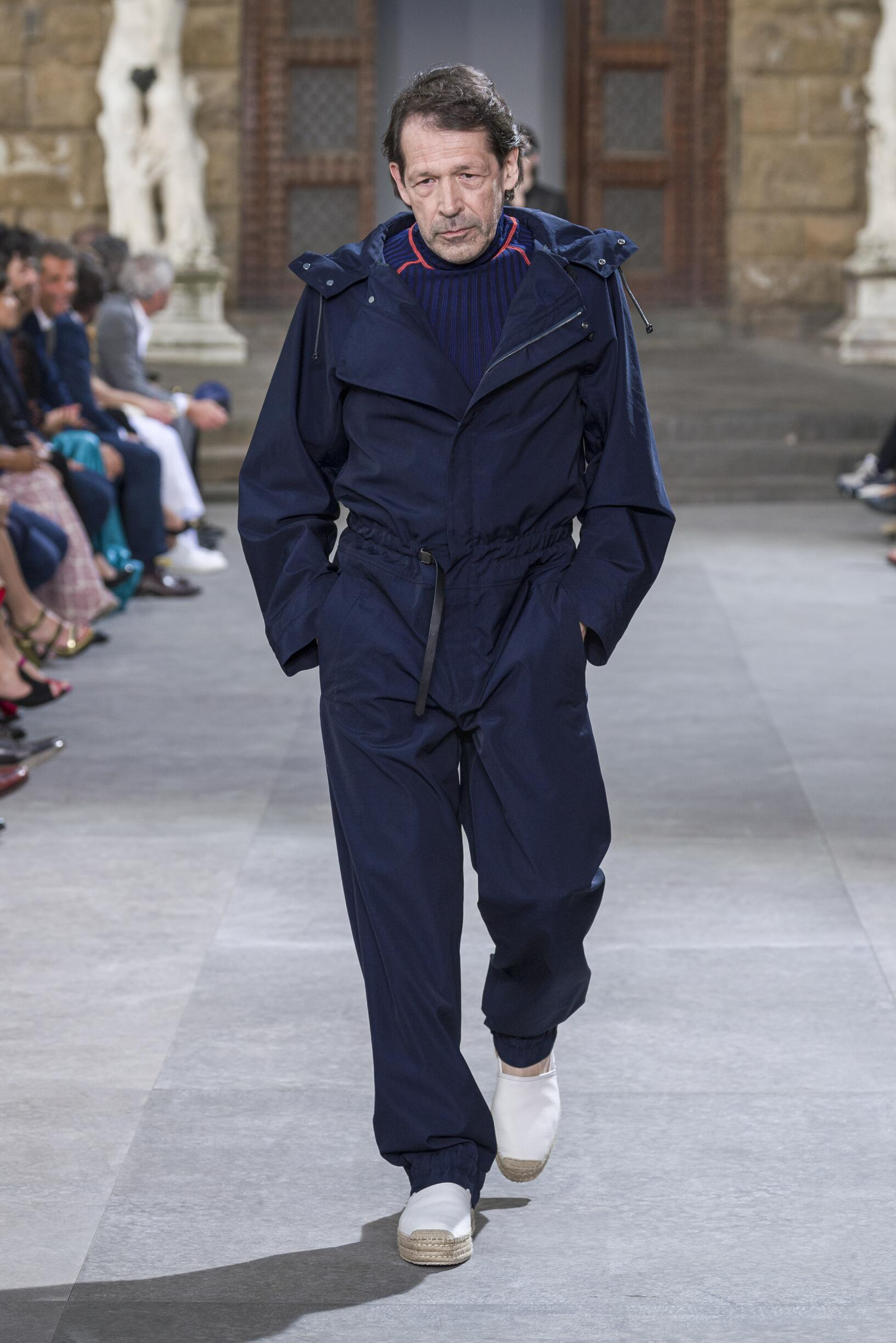 2020 Catwalk Salvatore Ferragamo Man Fashion Show Summer