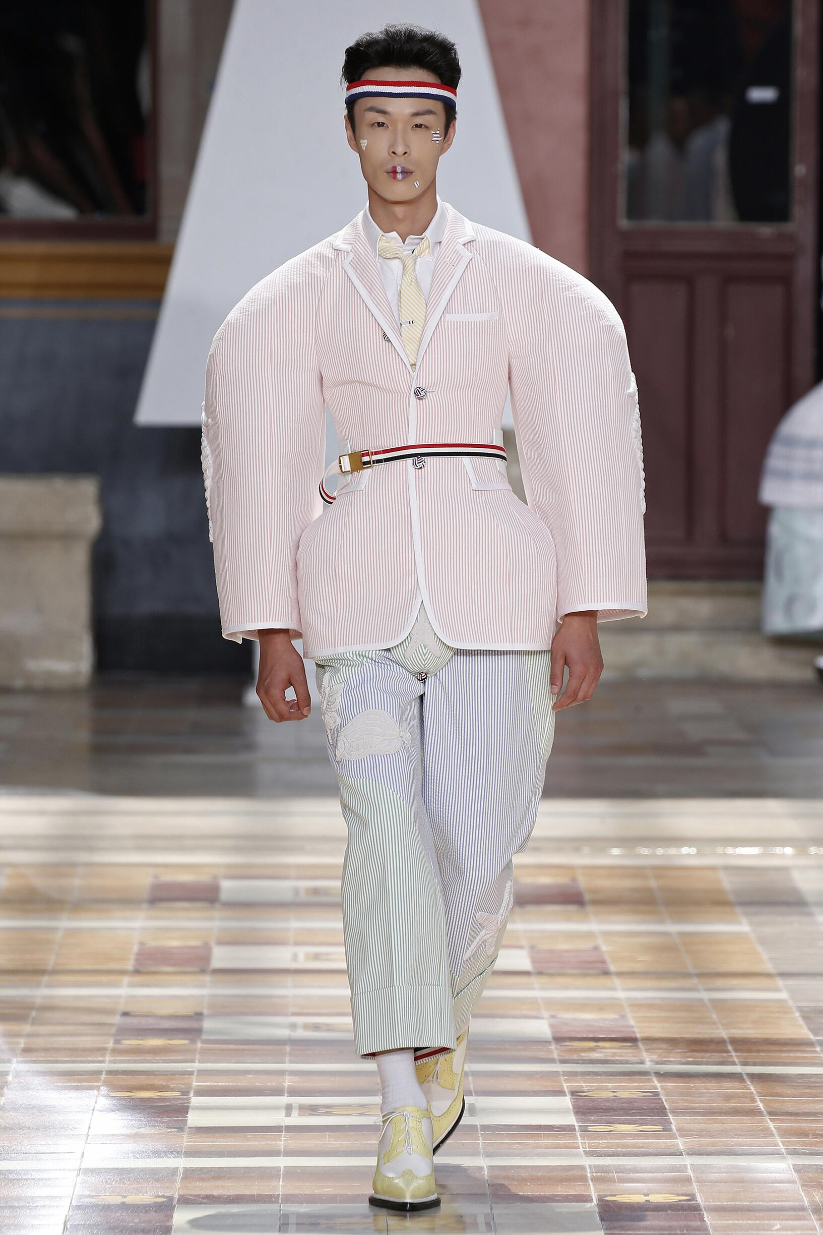 2020 Catwalk Thom Browne Summer Man Collection