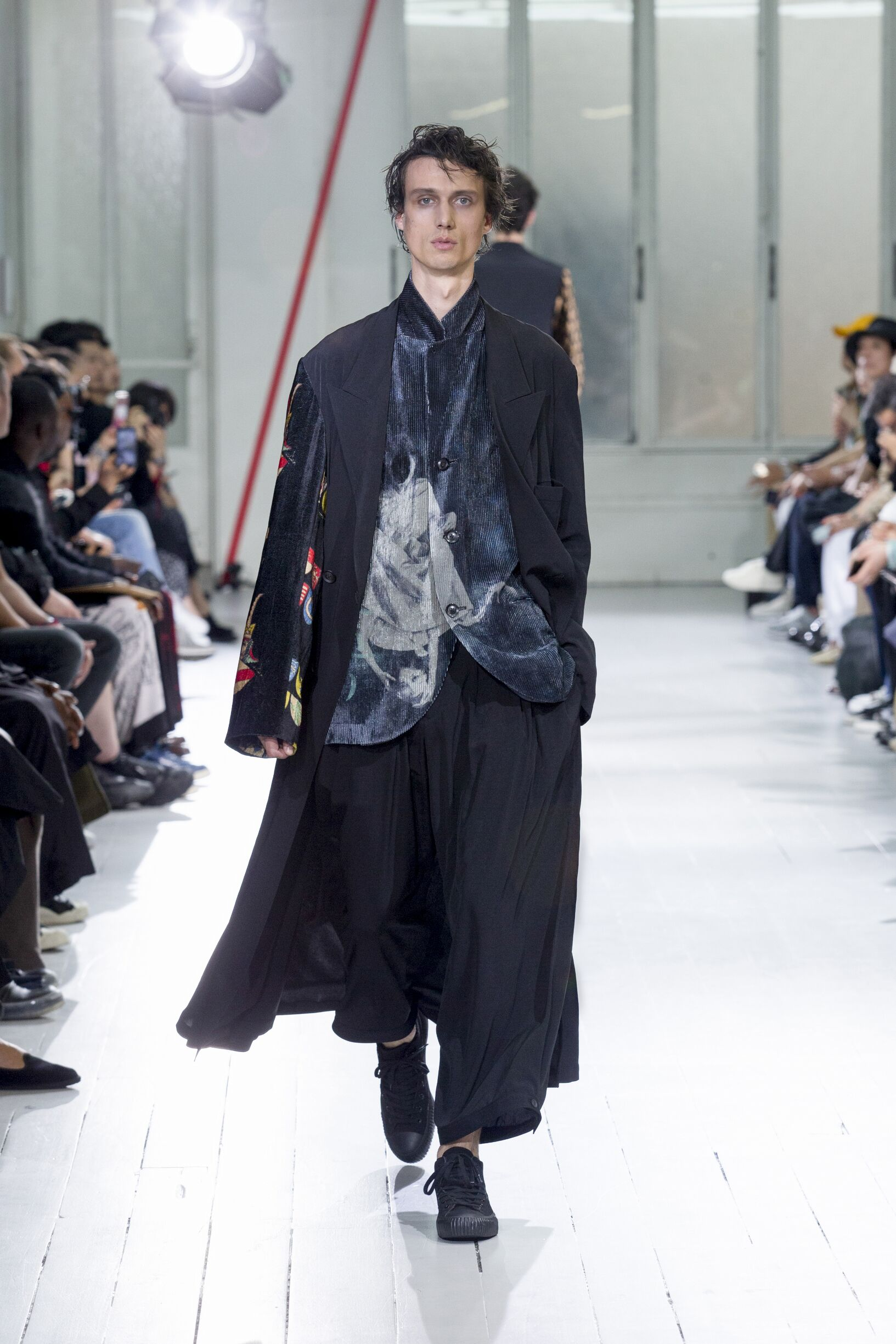 2020 Catwalk Yohji Yamamoto Summer Man Collection