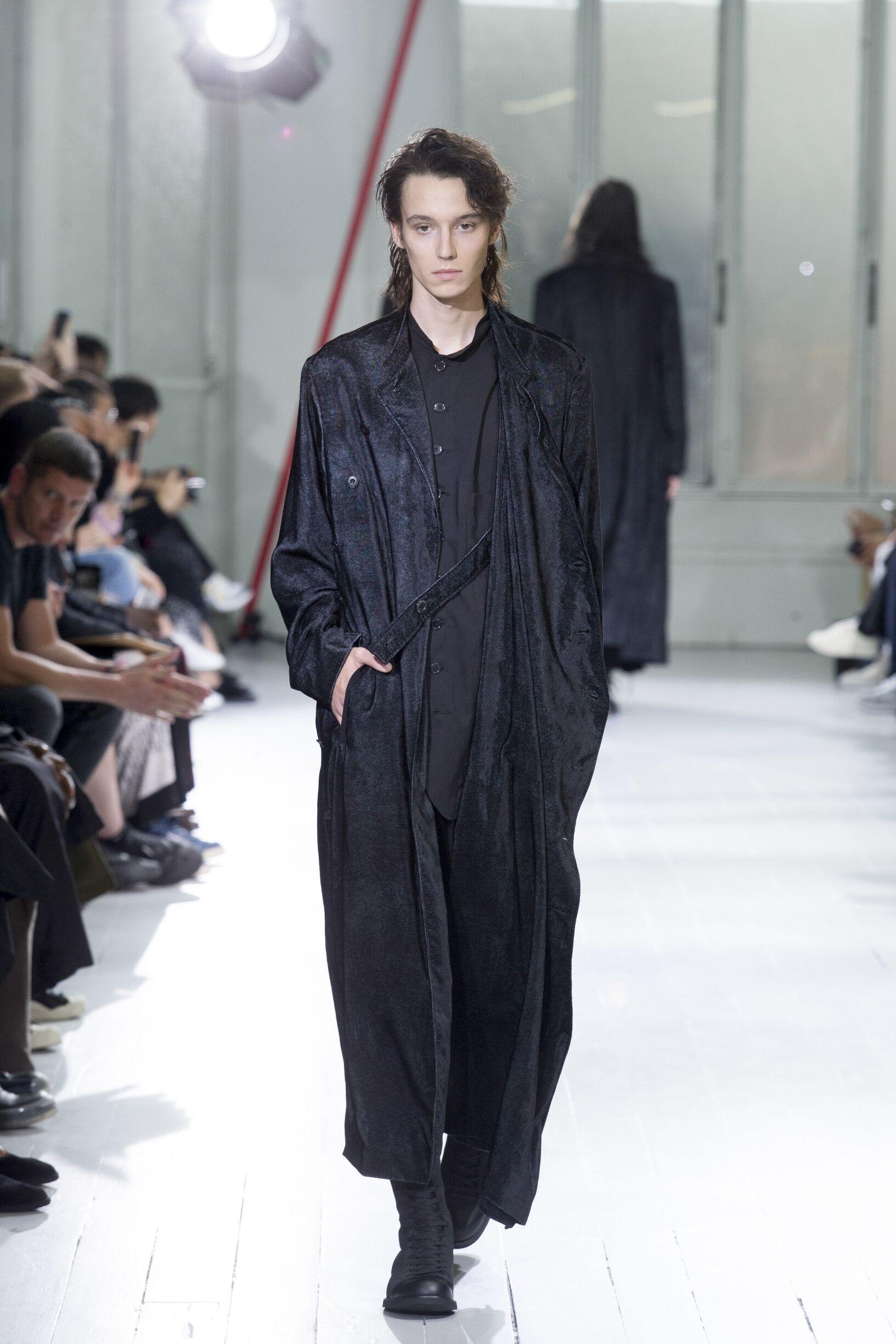 2020 Catwalk Yohji Yamamoto Summer