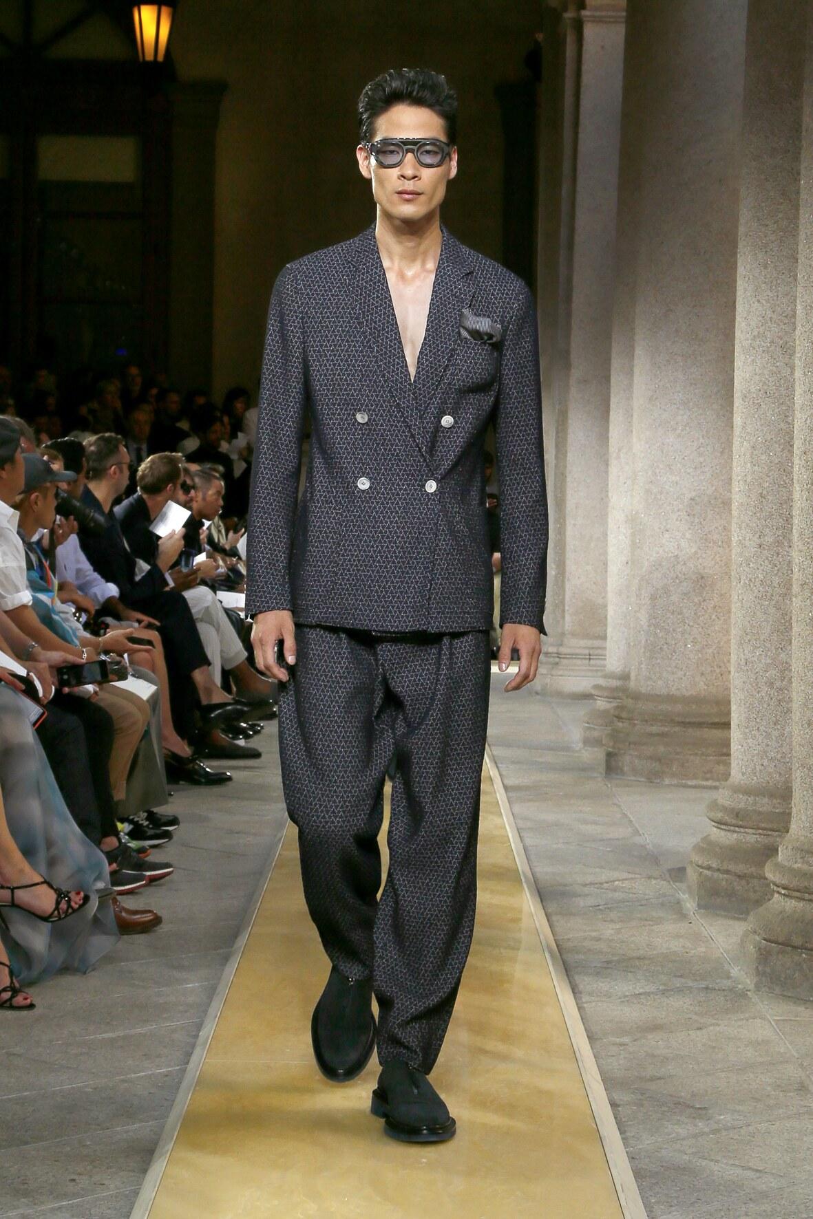 2020 Giorgio Armani Summer Catwalk