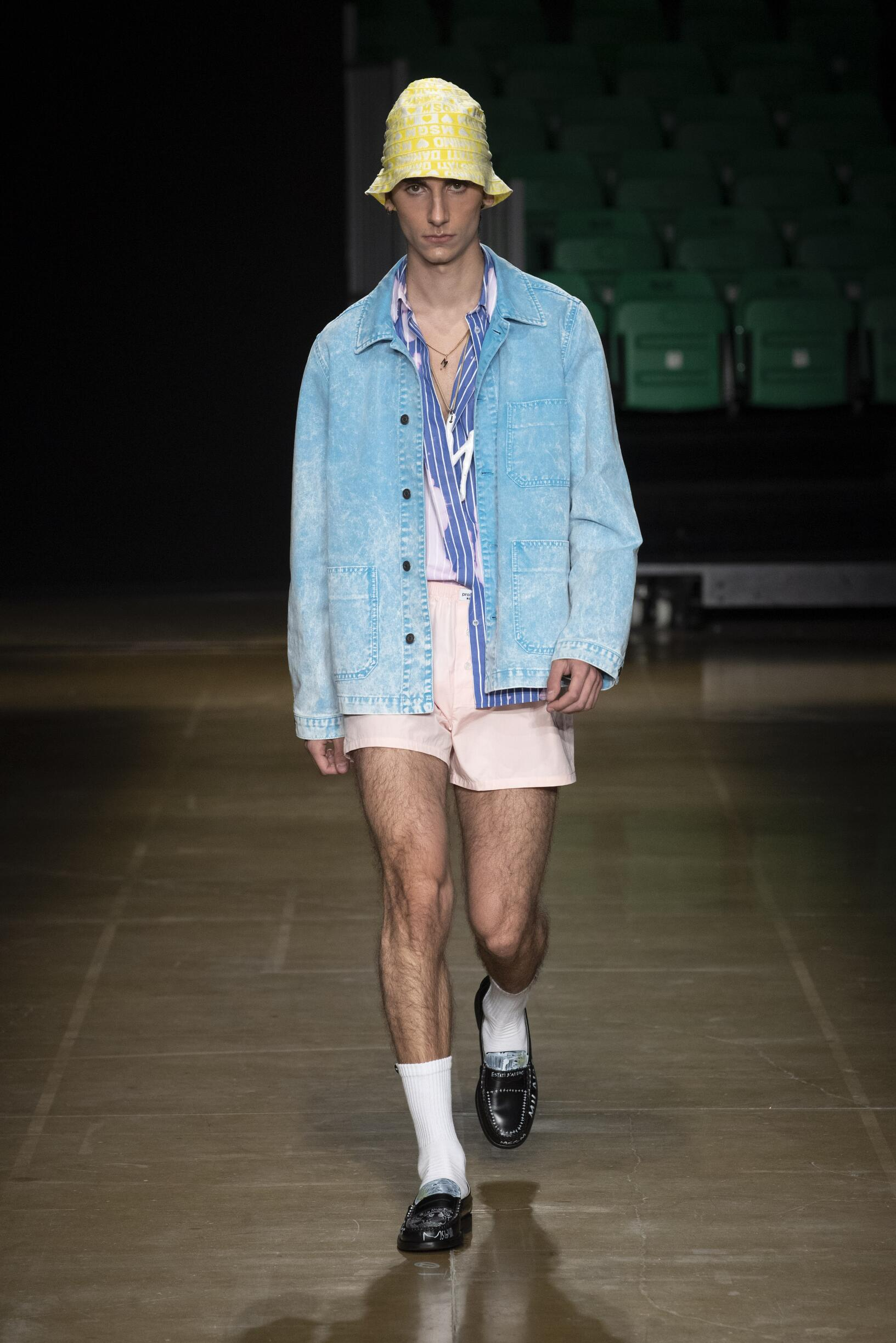 2020 MSGM Summer Catwalk