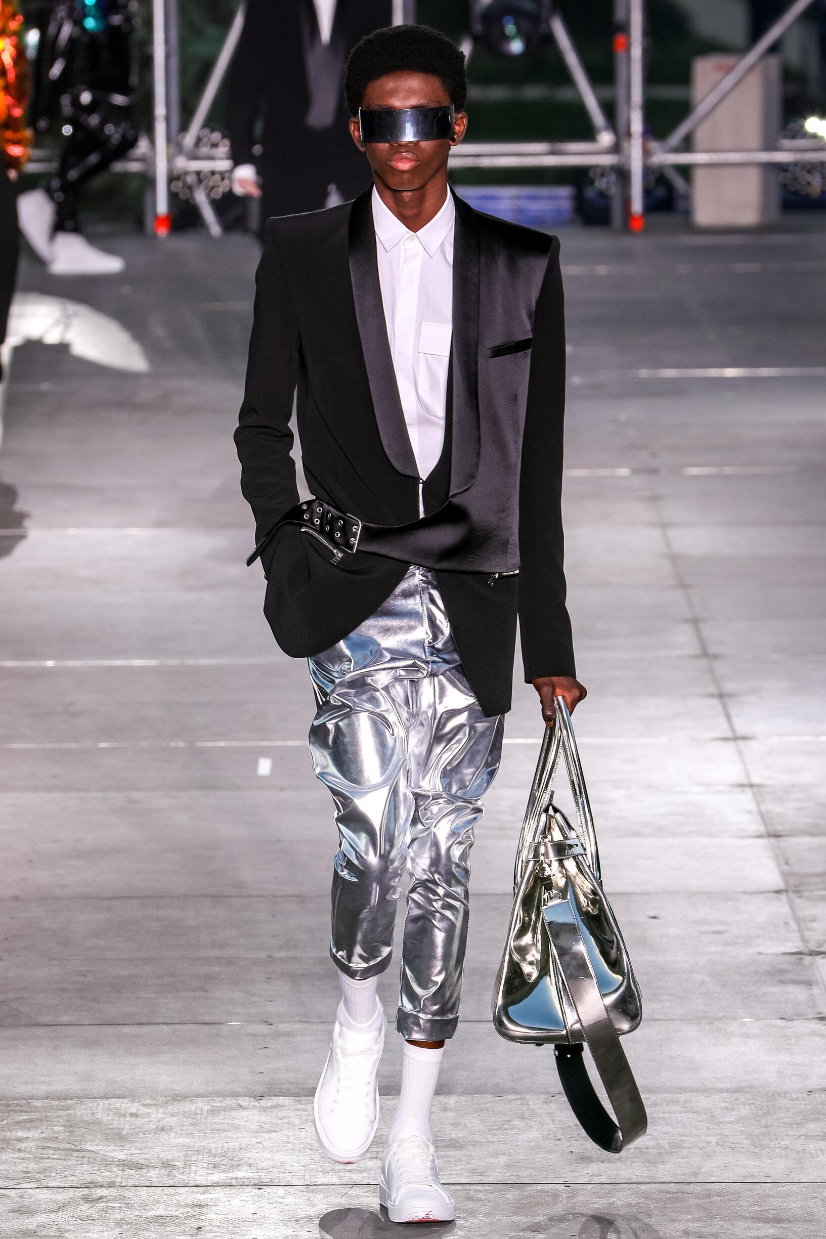 2020 Man Balmain Trends Paris Fashion Week
