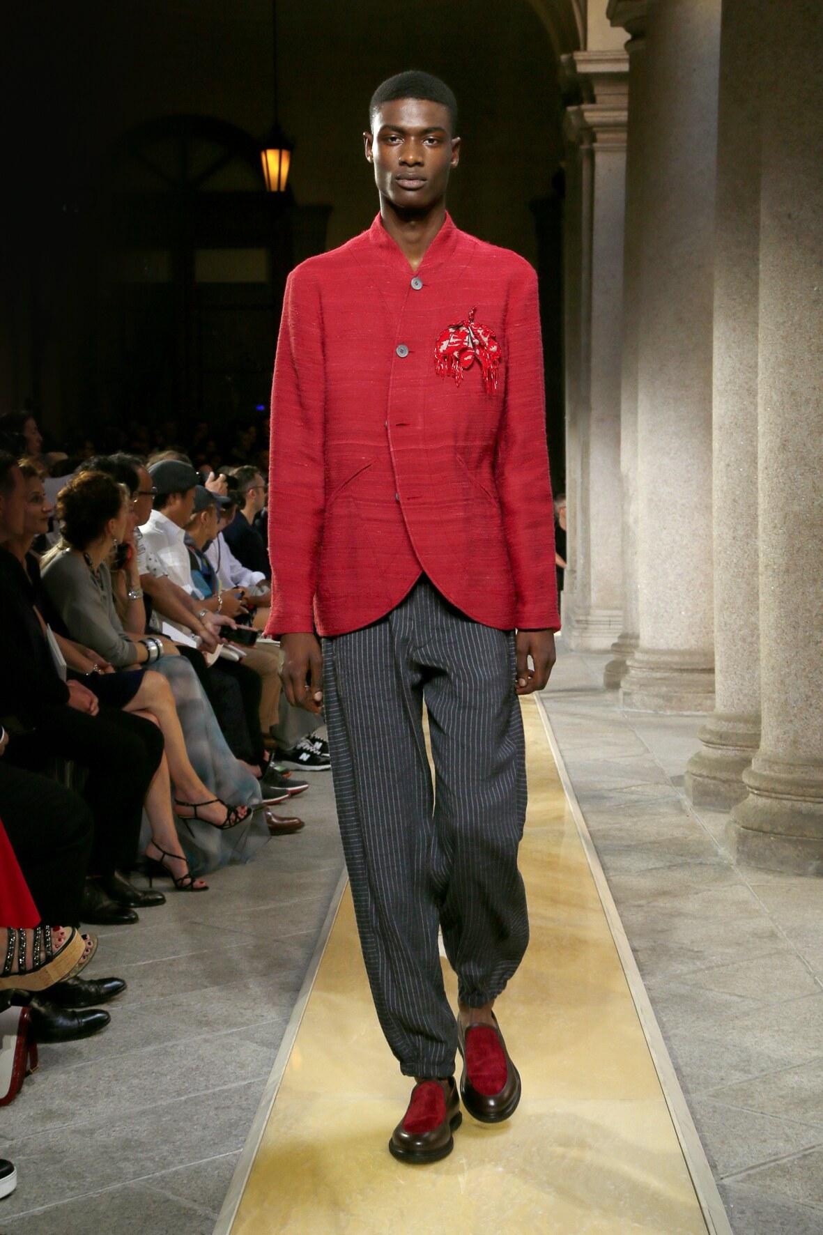 2020 Man Giorgio Armani Trends Milan Fashion Week