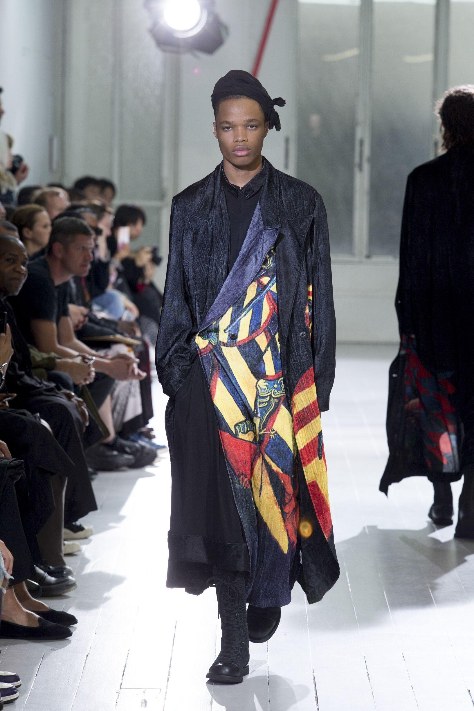 2020 Man Style Yohji Yamamoto