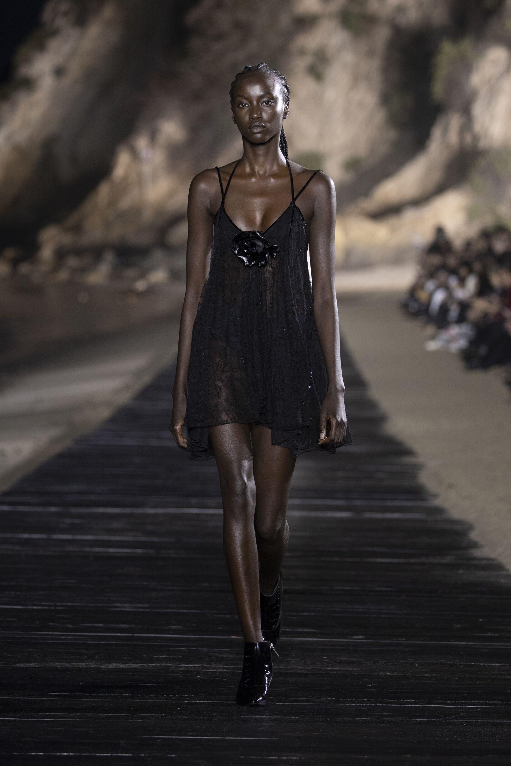 2020 Saint Laurent Trends Malibu Fashion Show