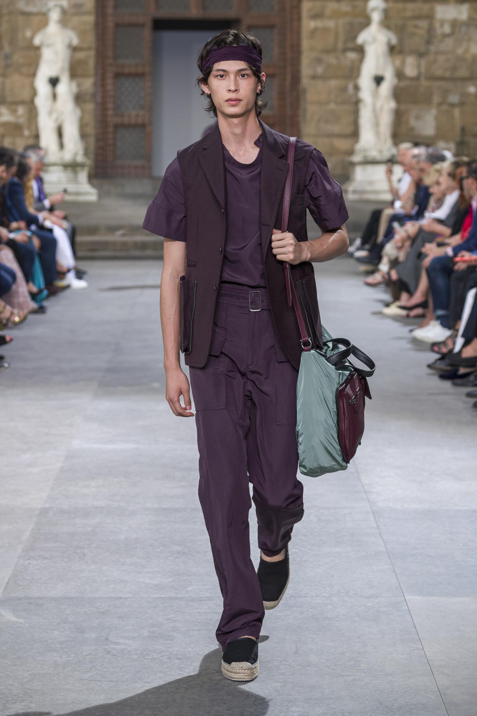 2020 Salvatore Ferragamo Spring Summer Man