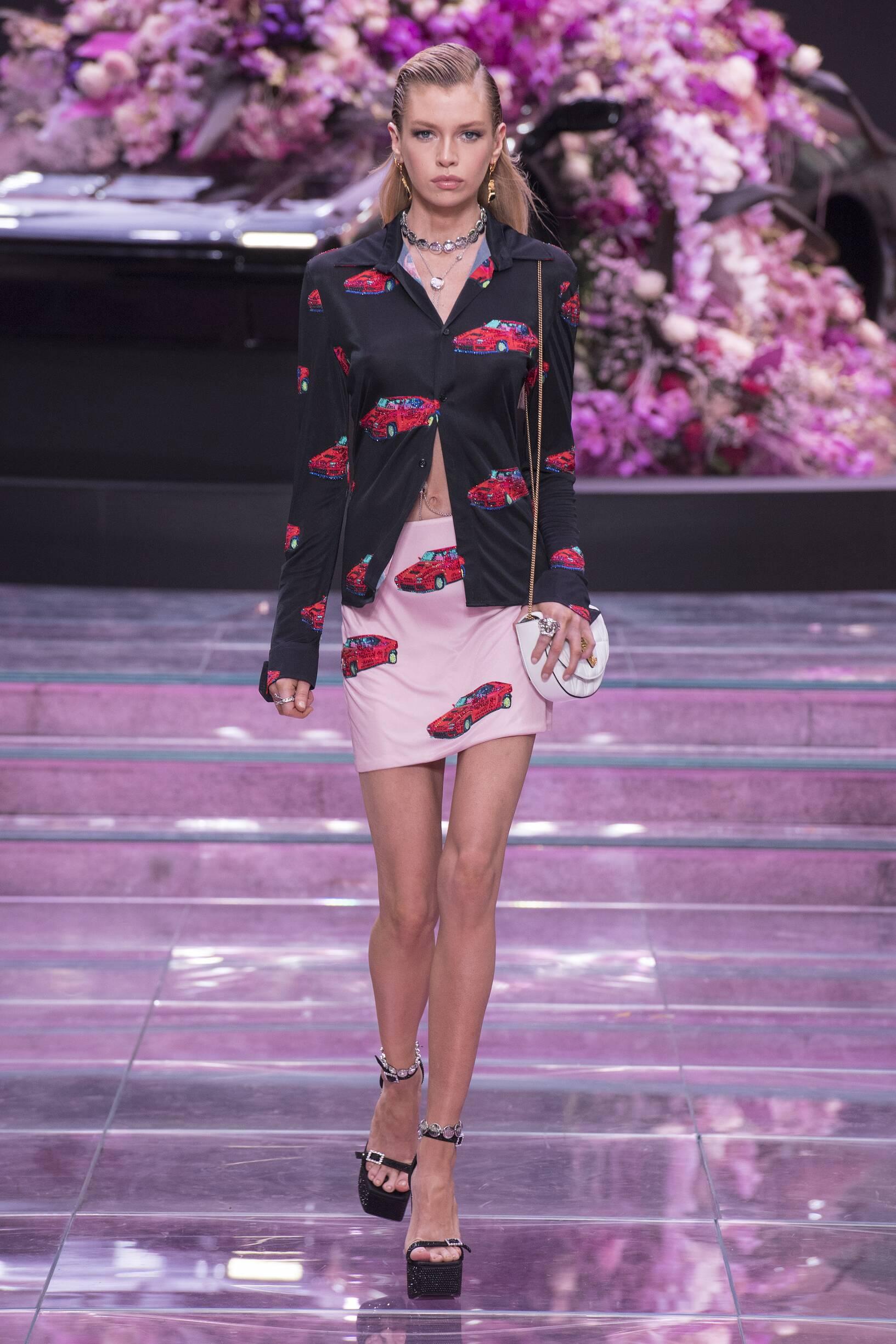 2020 Versace Spring Summer Woman