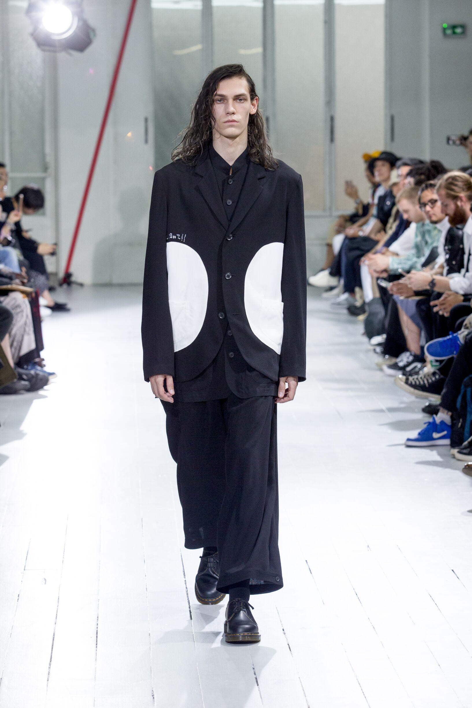 2020 Yohji Yamamoto Catwalk