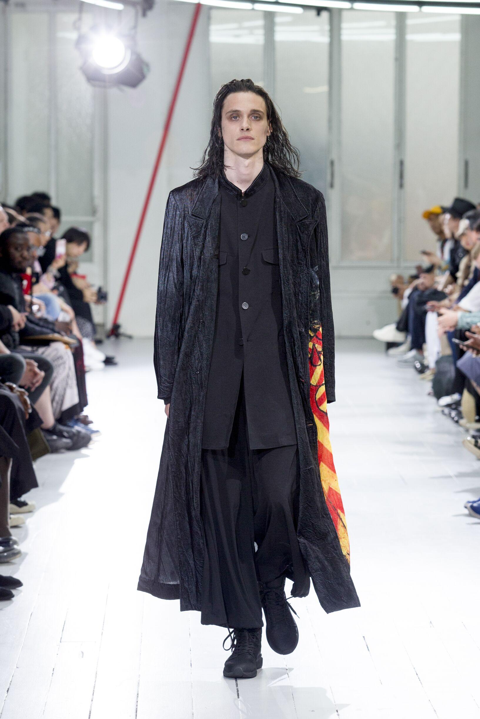 2020 Yohji Yamamoto Spring Catwalk