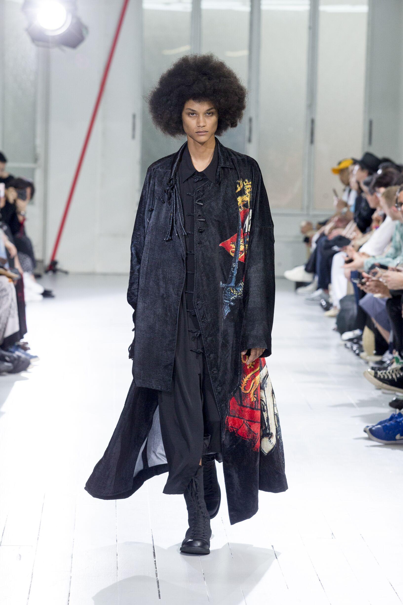 2020 Yohji Yamamoto Spring Summer Man