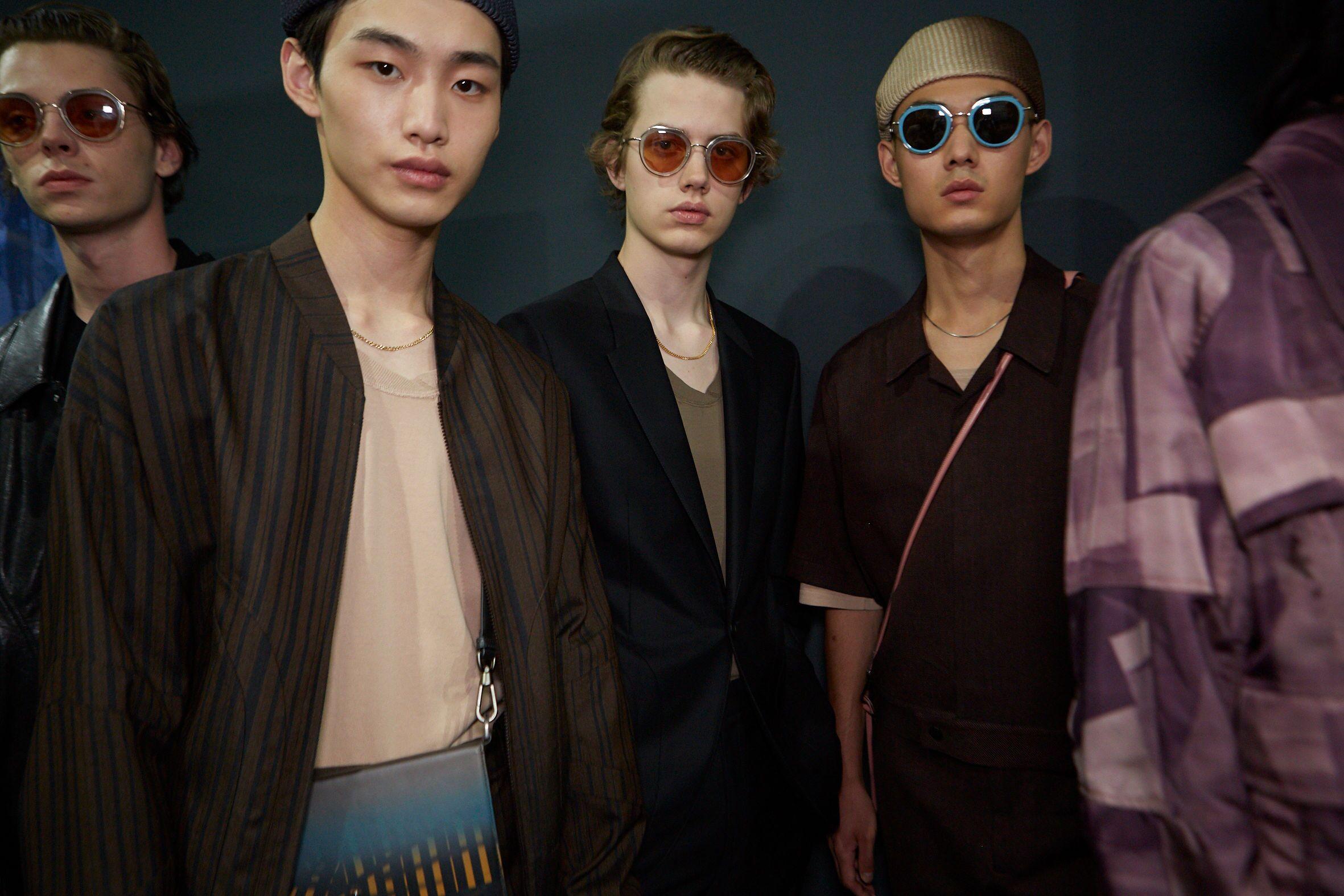 Backstage Ermenegildo Zegna XXX Mens Models 2020 Style