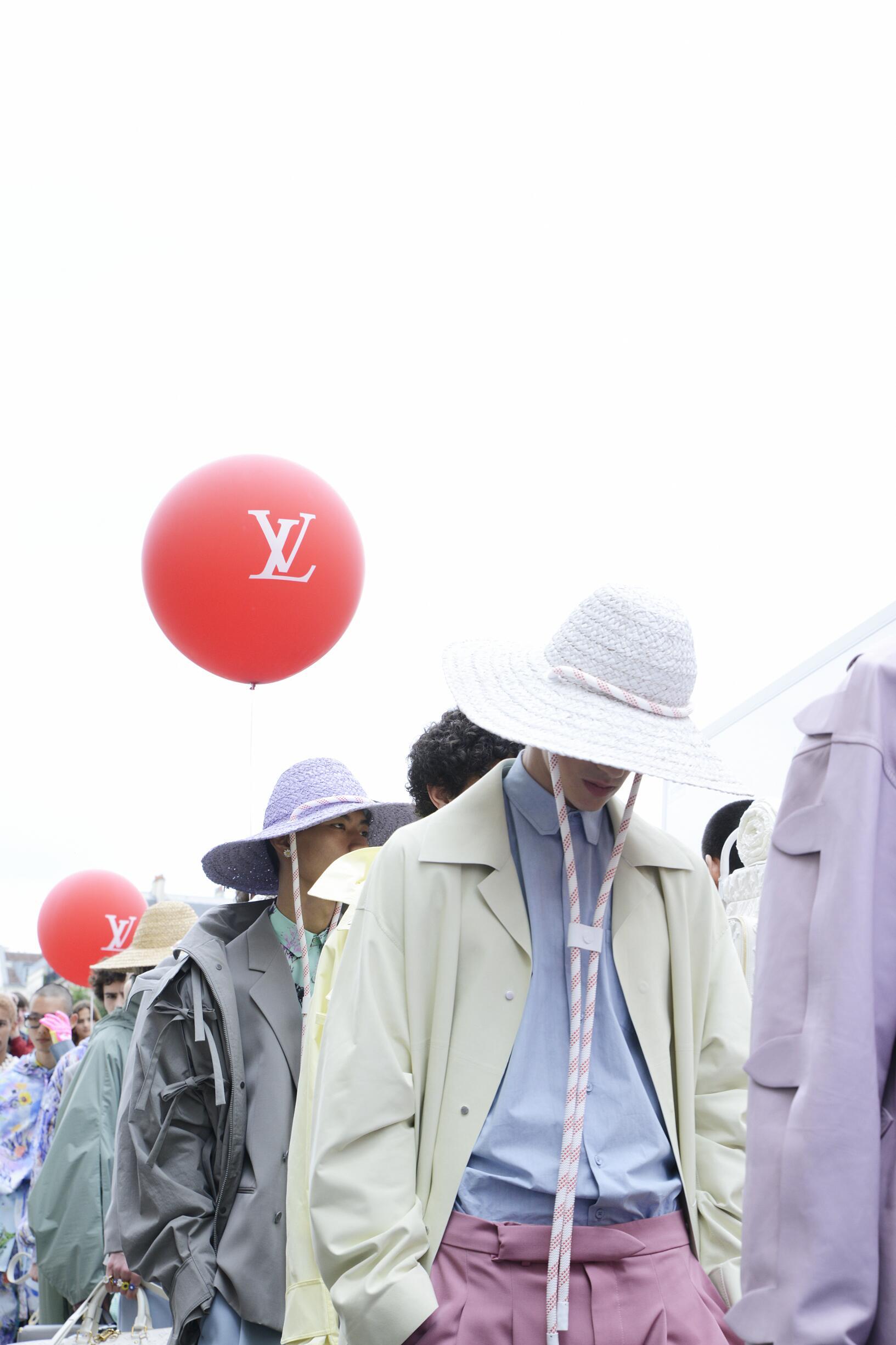 Backstage Louis Vuitton Paris Spring Summer 2020 Collection