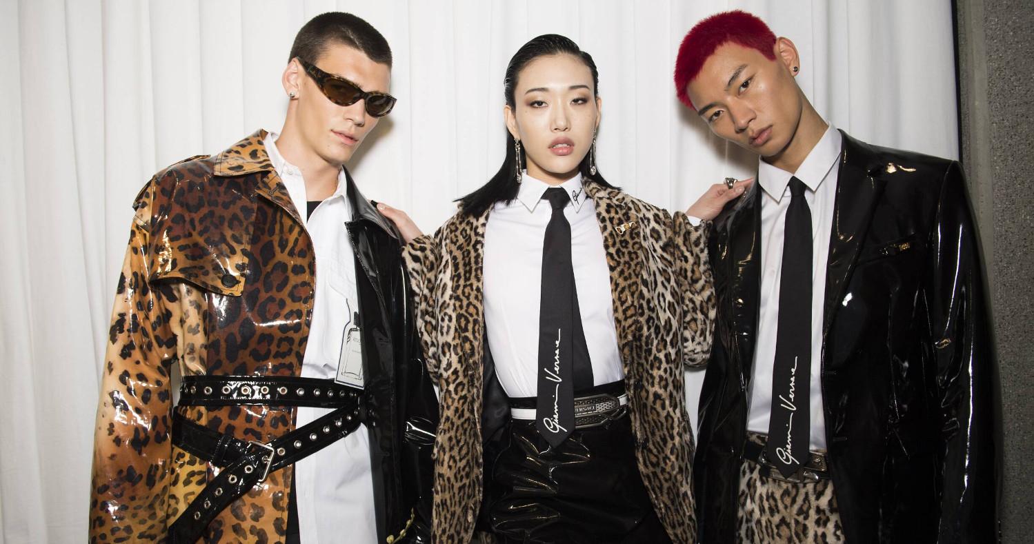 Backstage Versace Fashion Show 2020 Milan