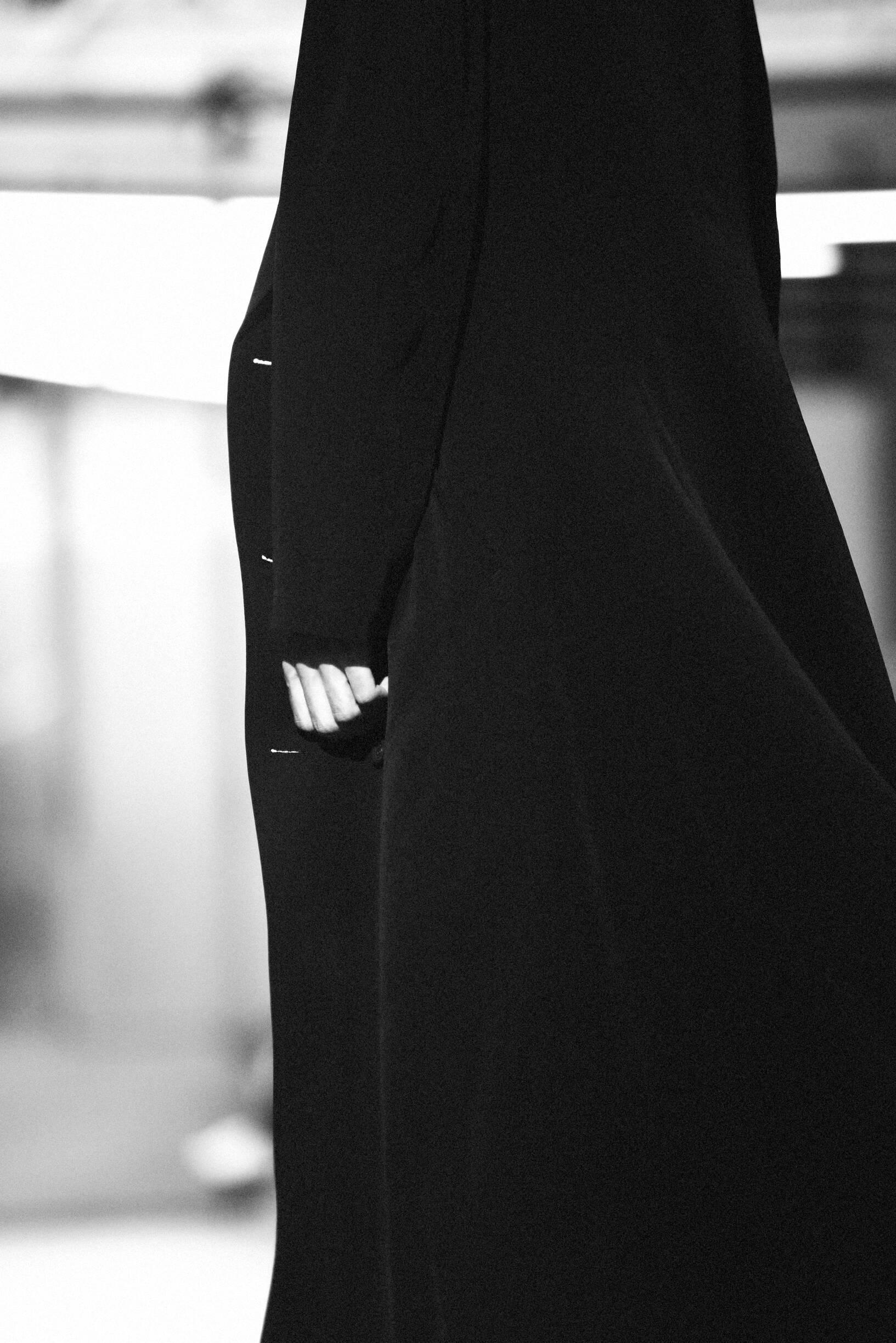 Backstage Yohji Yamamoto Detail SS 2020