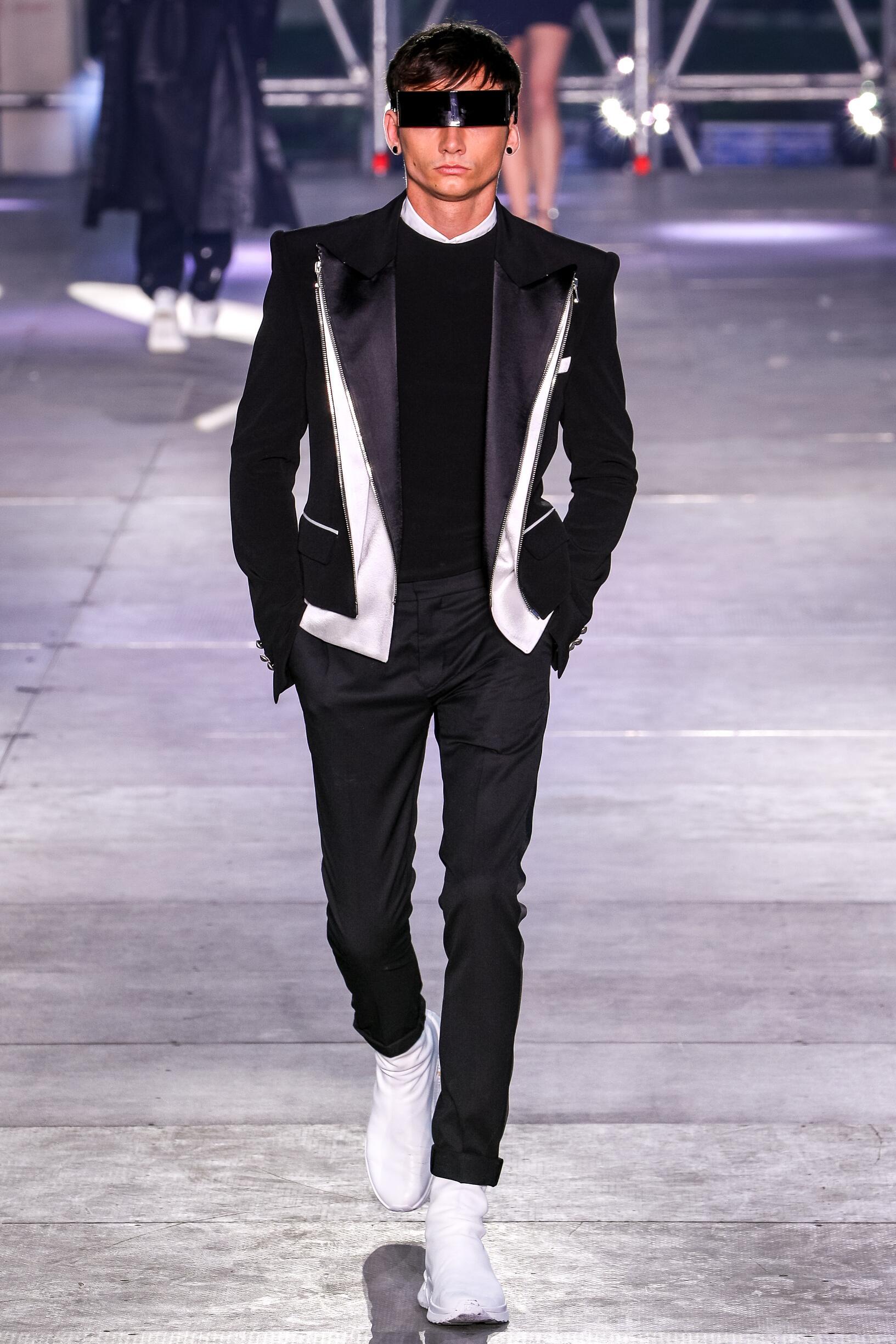 Balmain 2020 Paris Men Trends