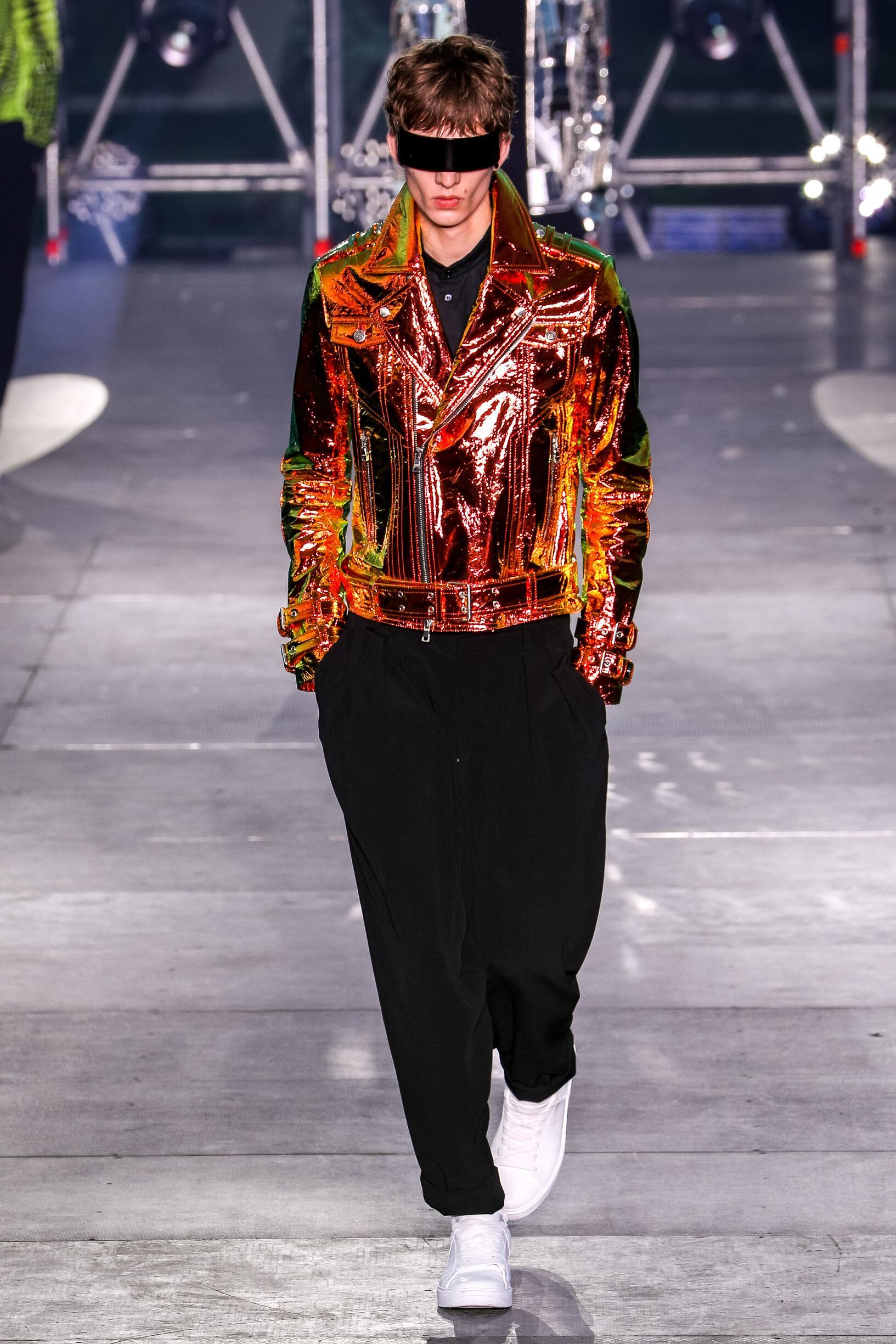 Balmain Menswear Collection Style