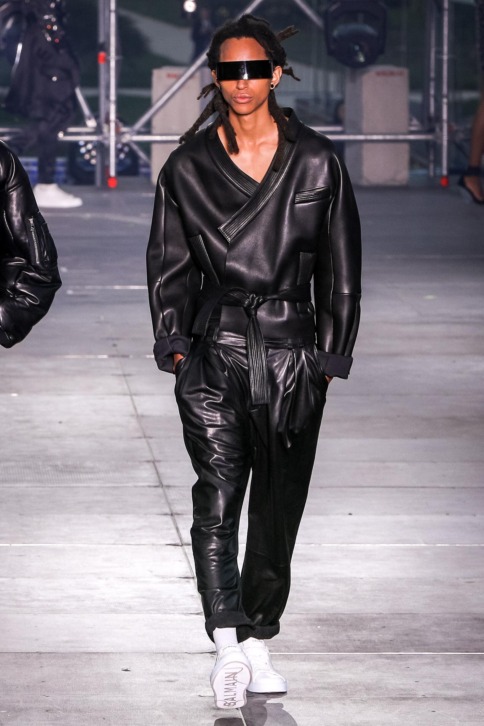 Balmain Menswear Collection Trends Summer