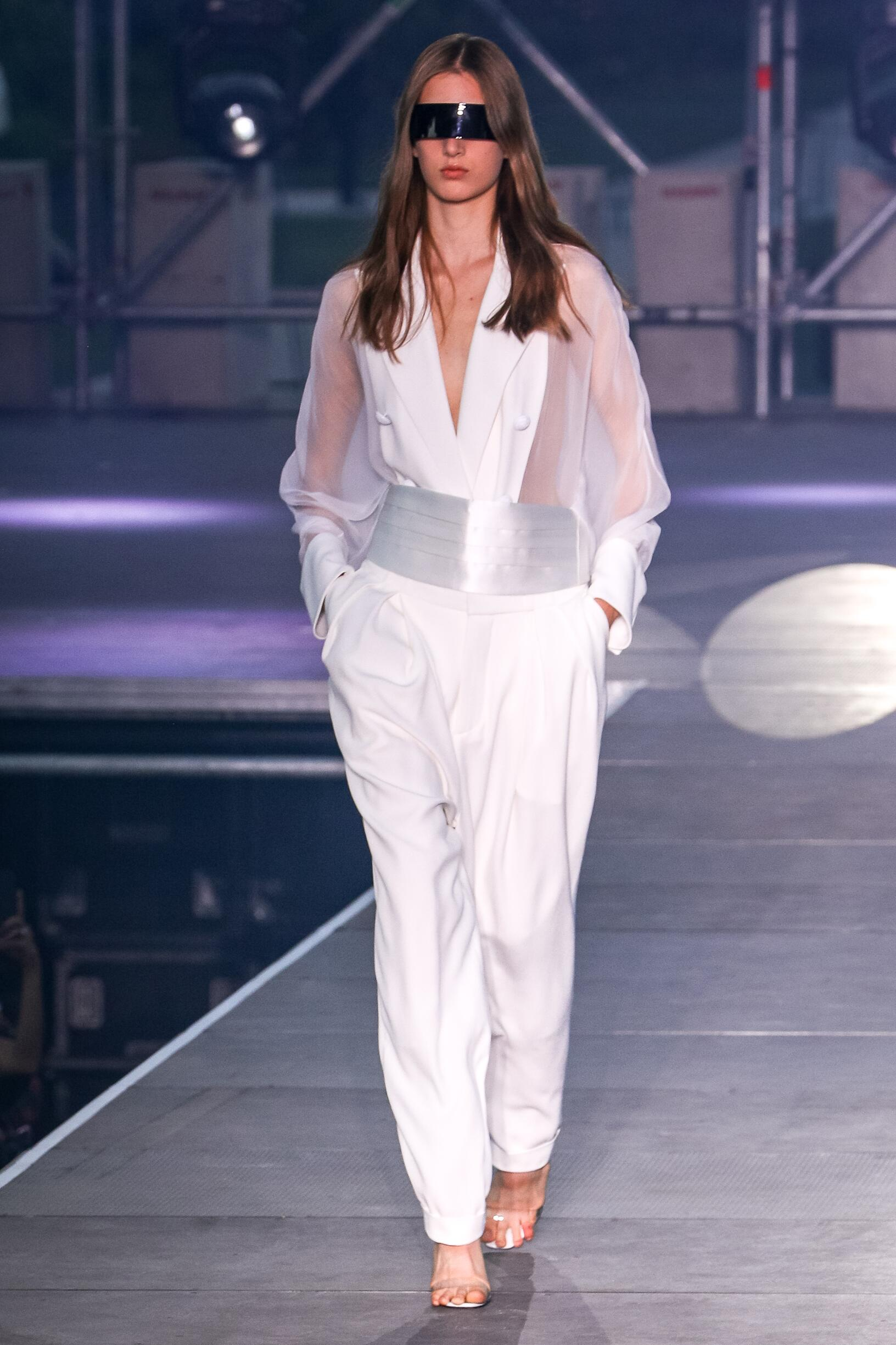Balmain Womenswear Paris Fashion Week 2020