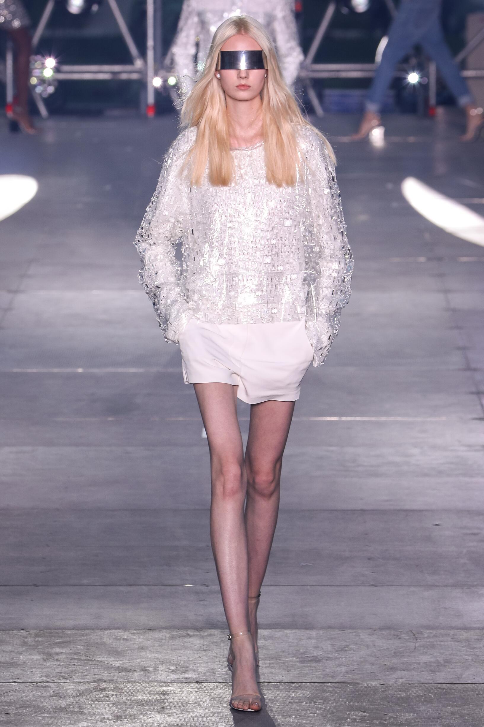 Balmain Womenswear Paris Fashion Week