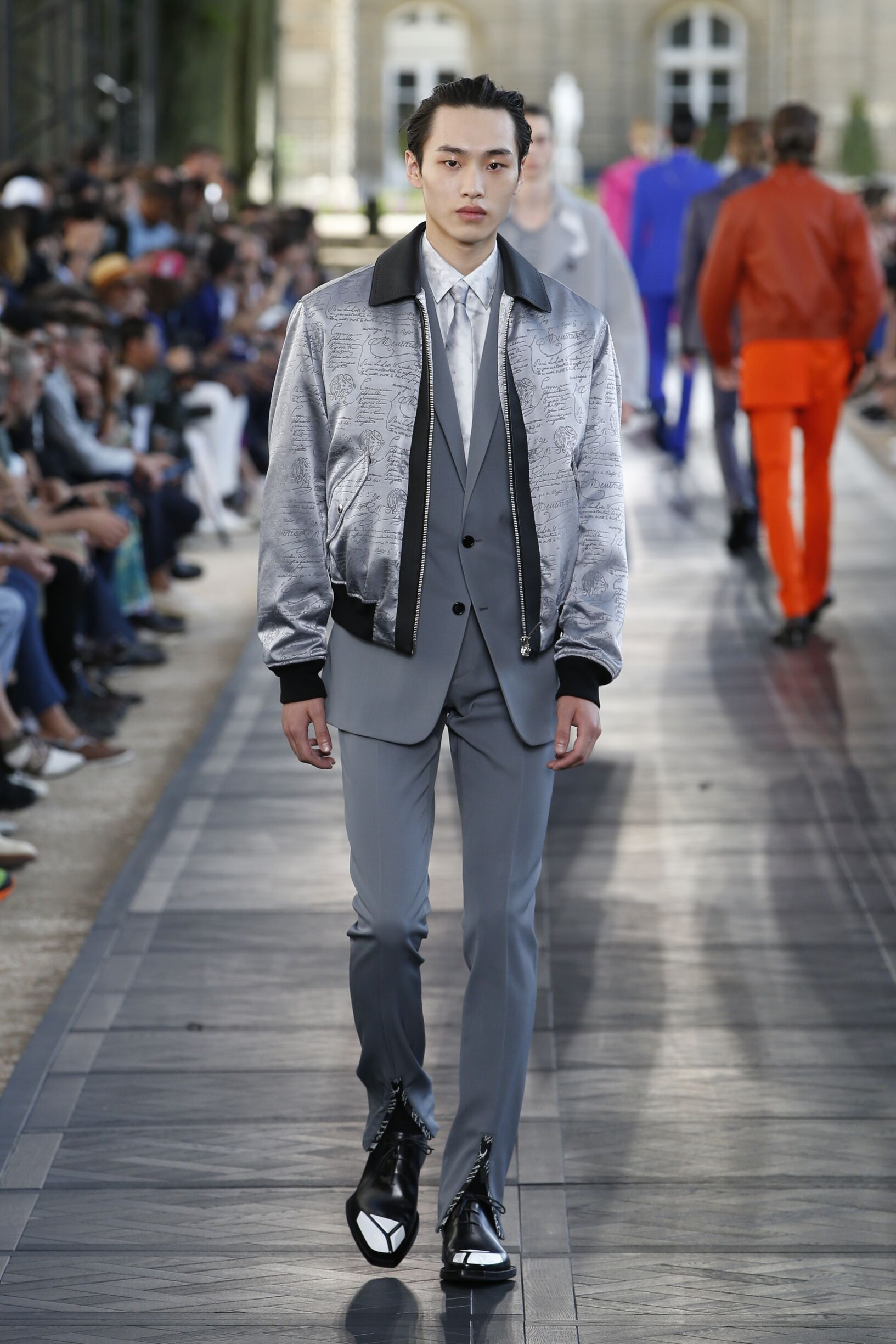Catwalk Berluti Man Fashion Show Summer 2020