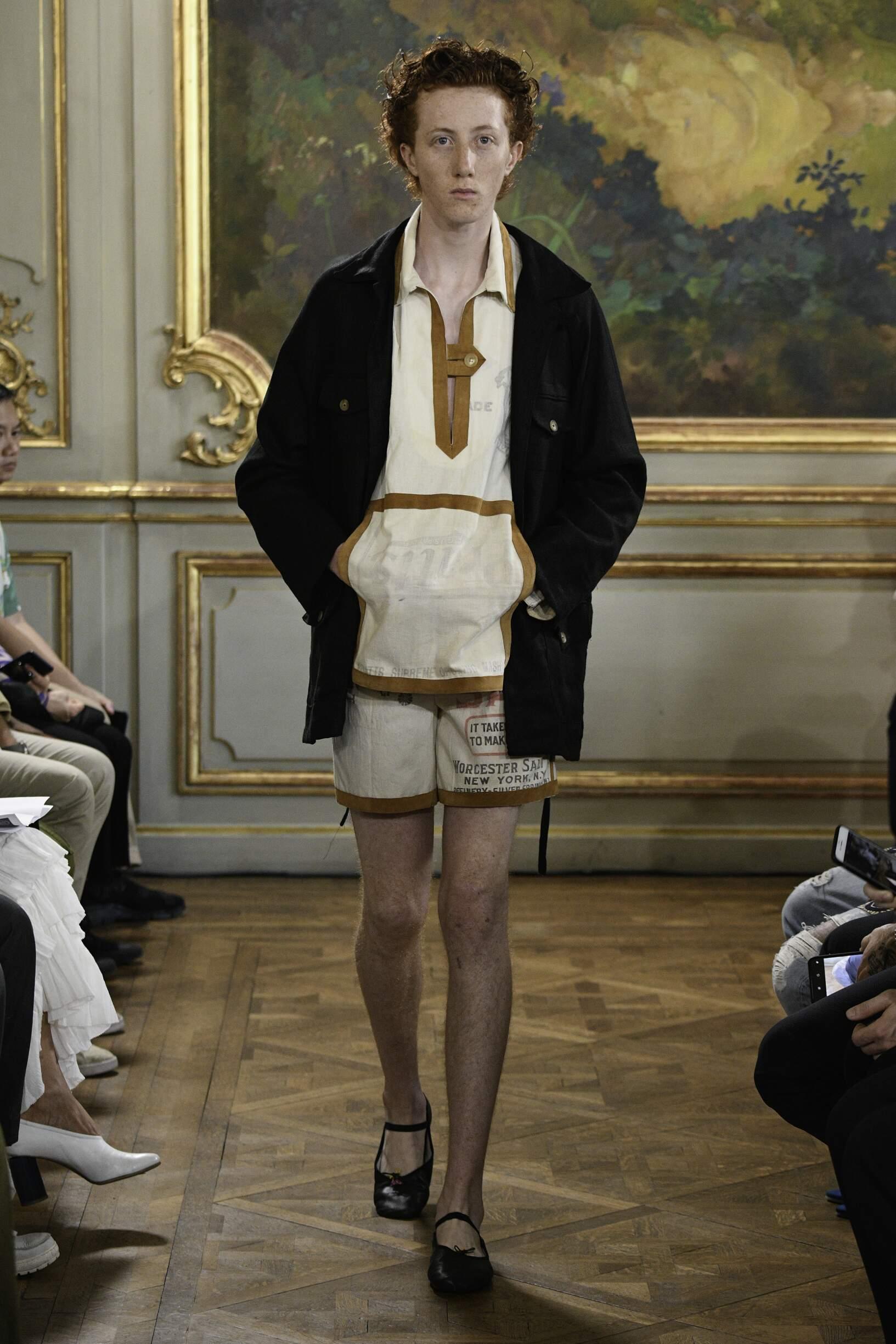 Catwalk Bode Man Fashion Show Summer 2020