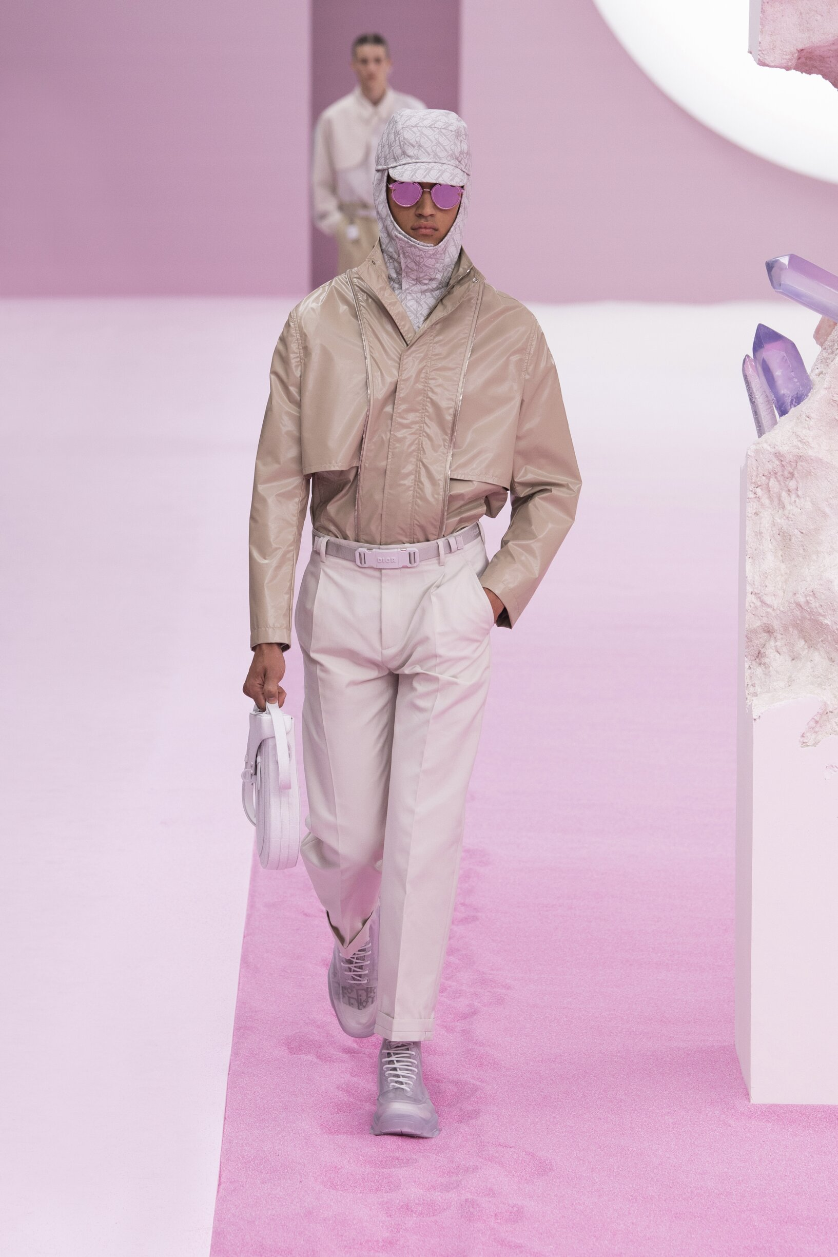 Catwalk Dior Man Fashion Show Summer 2020