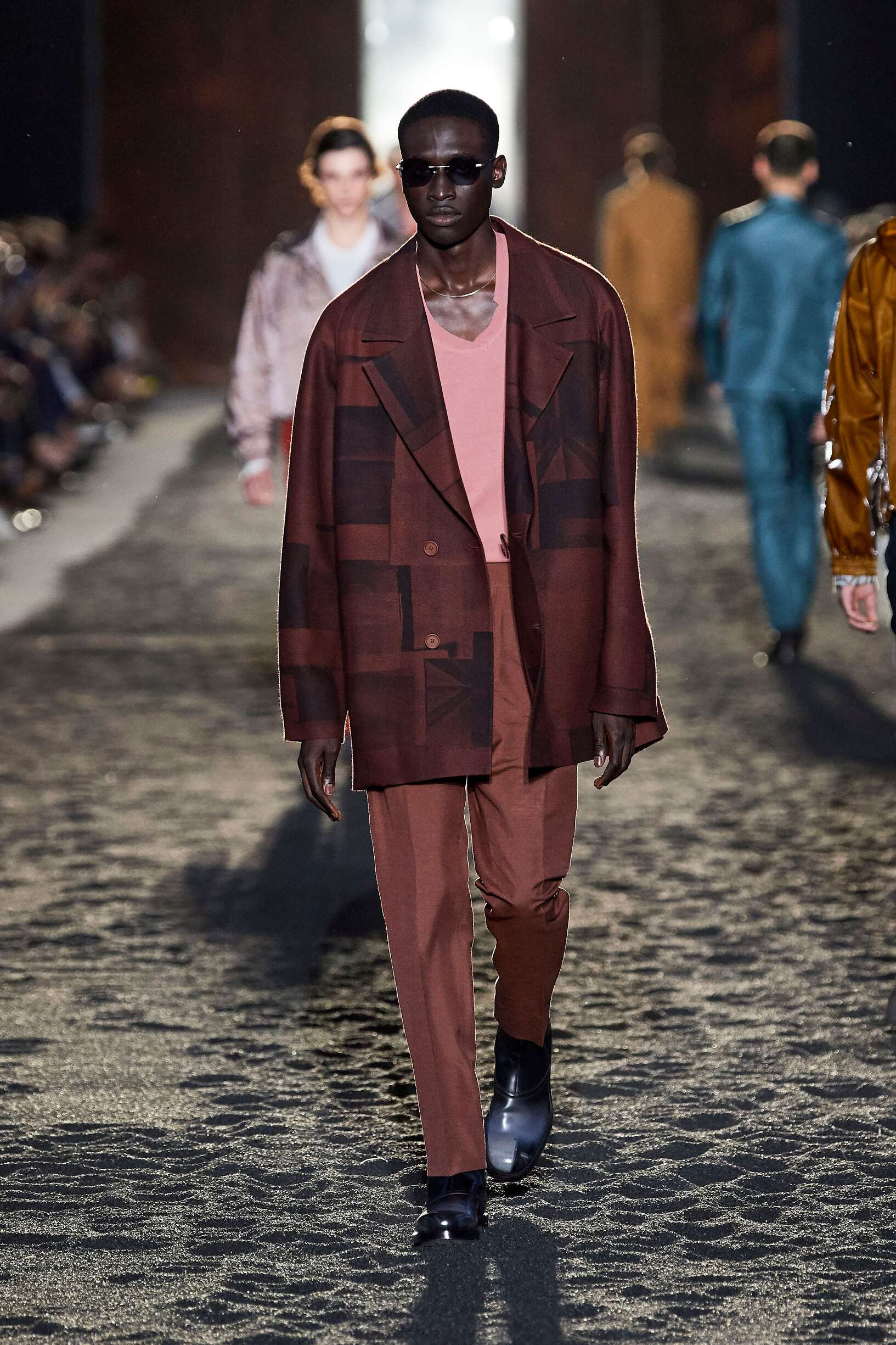 Catwalk Ermenegildo Zegna XXX Man Fashion Show Summer 2020