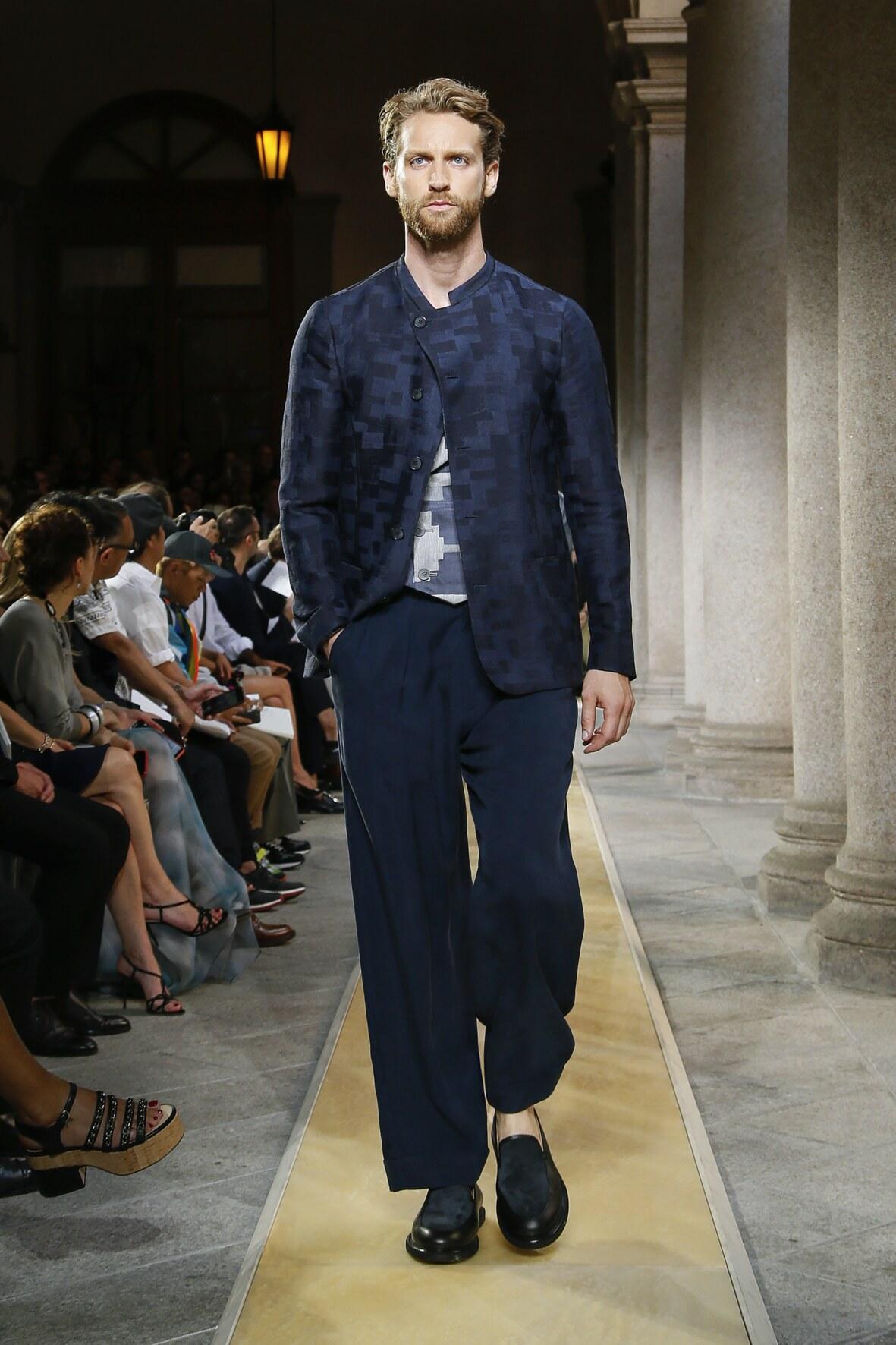 Catwalk Giorgio Armani