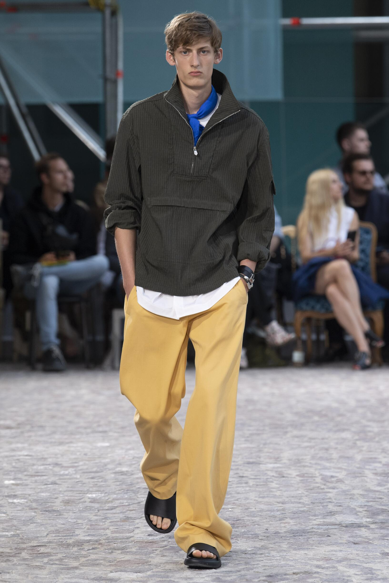 Catwalk Hermès Man Fashion Show Summer 2020