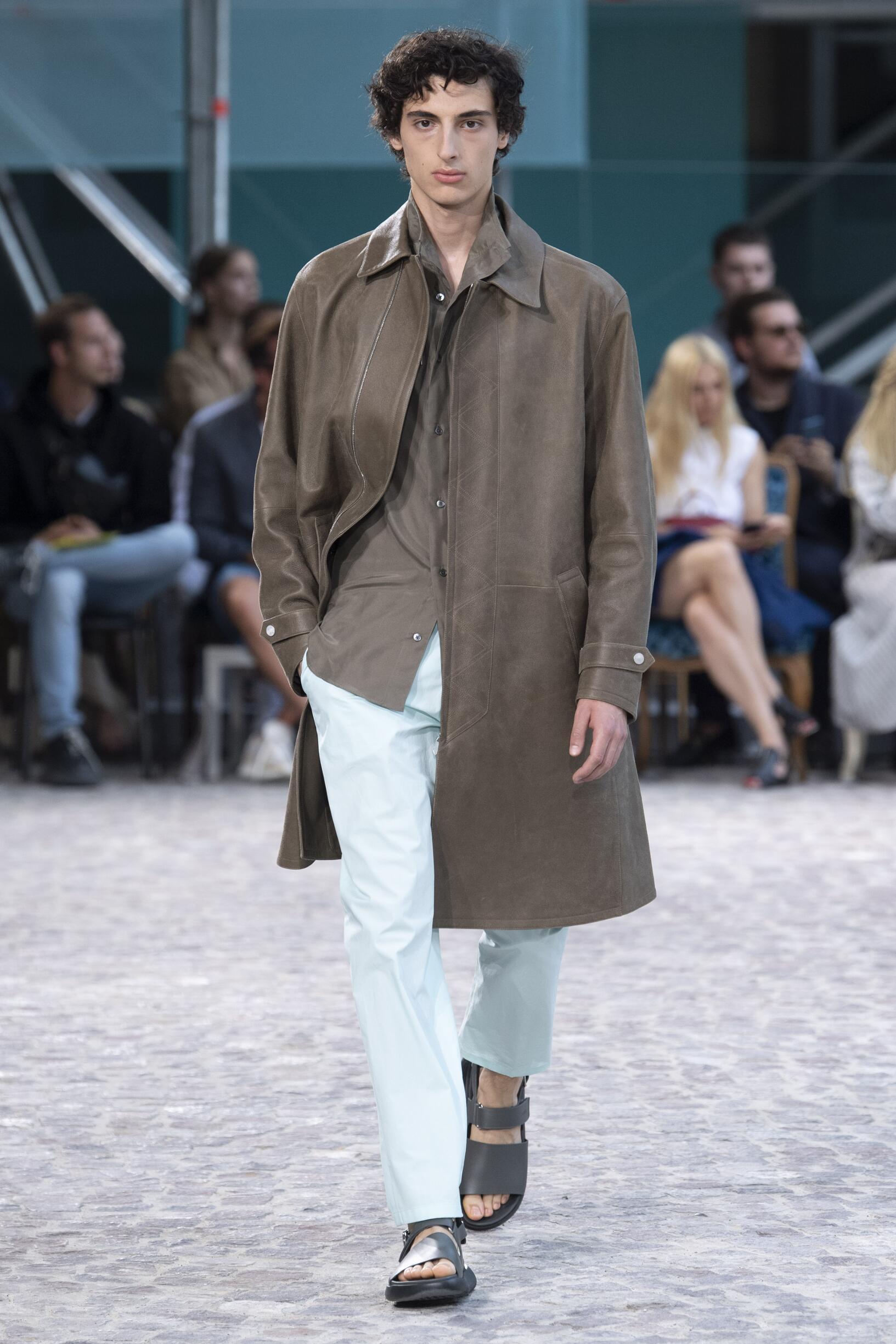 Catwalk Hermès Summer 2020