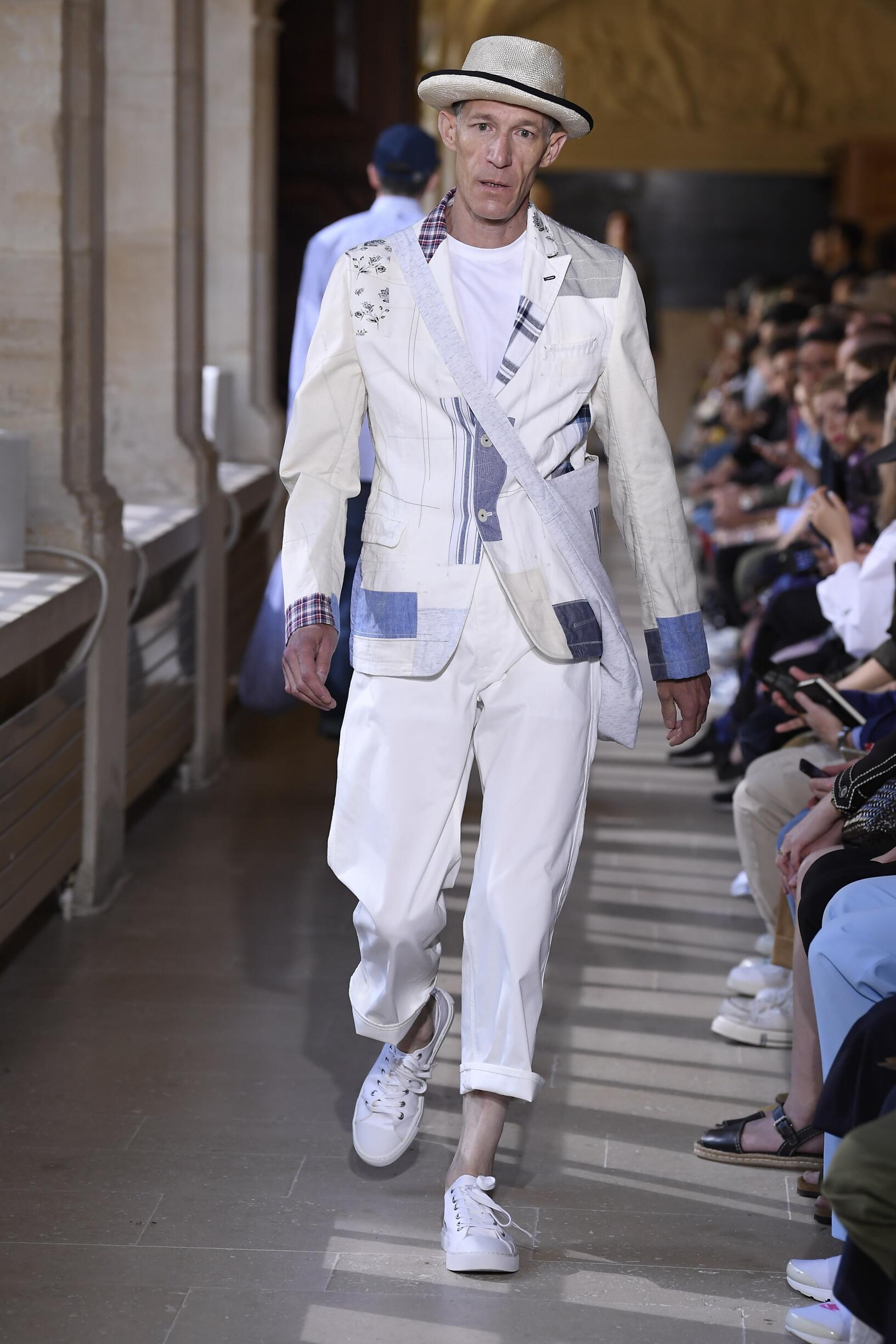 Catwalk Junya Watanabe Man Fashion Show Summer 2020