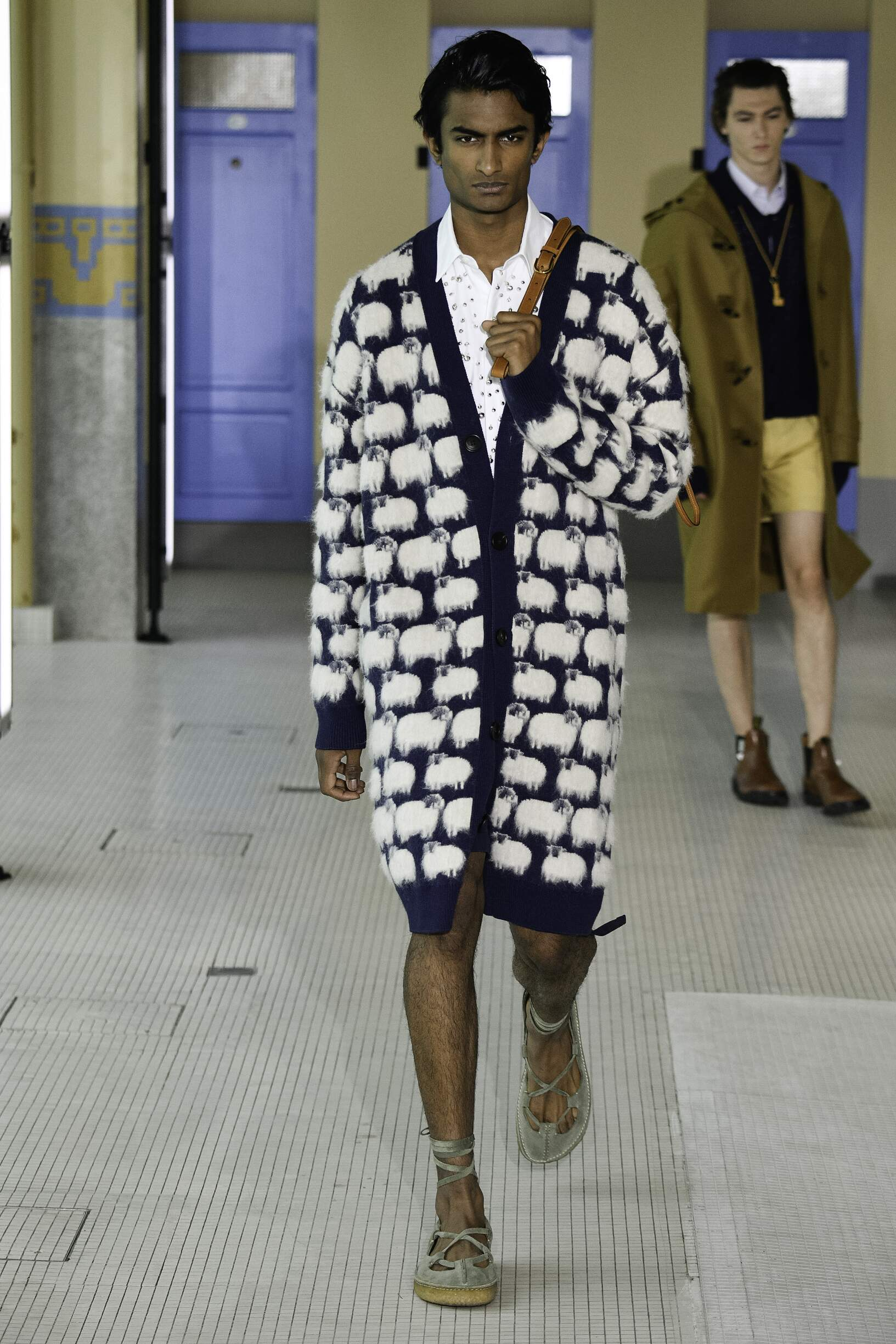 Catwalk Lanvin Man Fashion Show Summer 2020