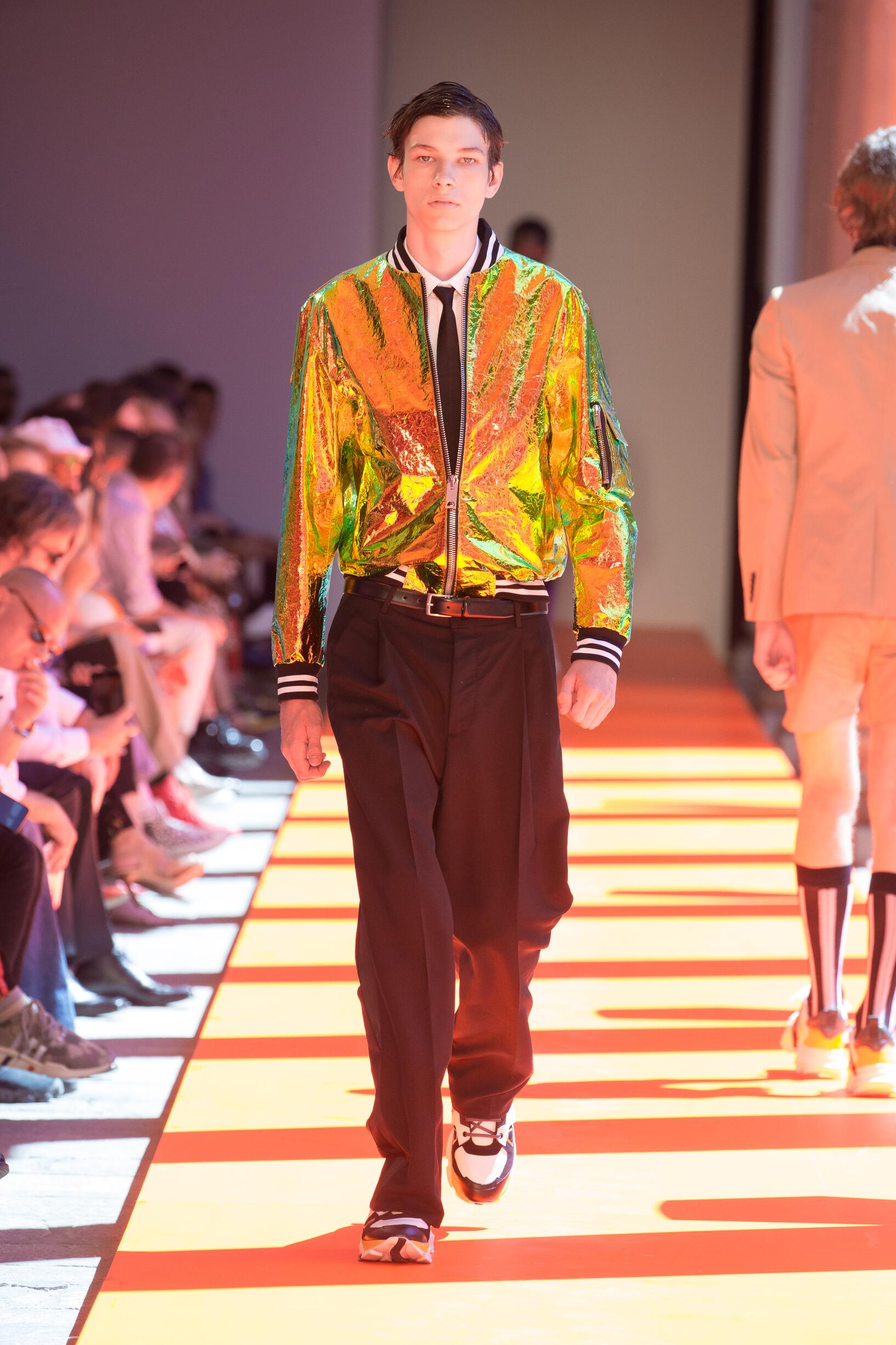 Catwalk Les Hommes Man Fashion Show Summer 2020
