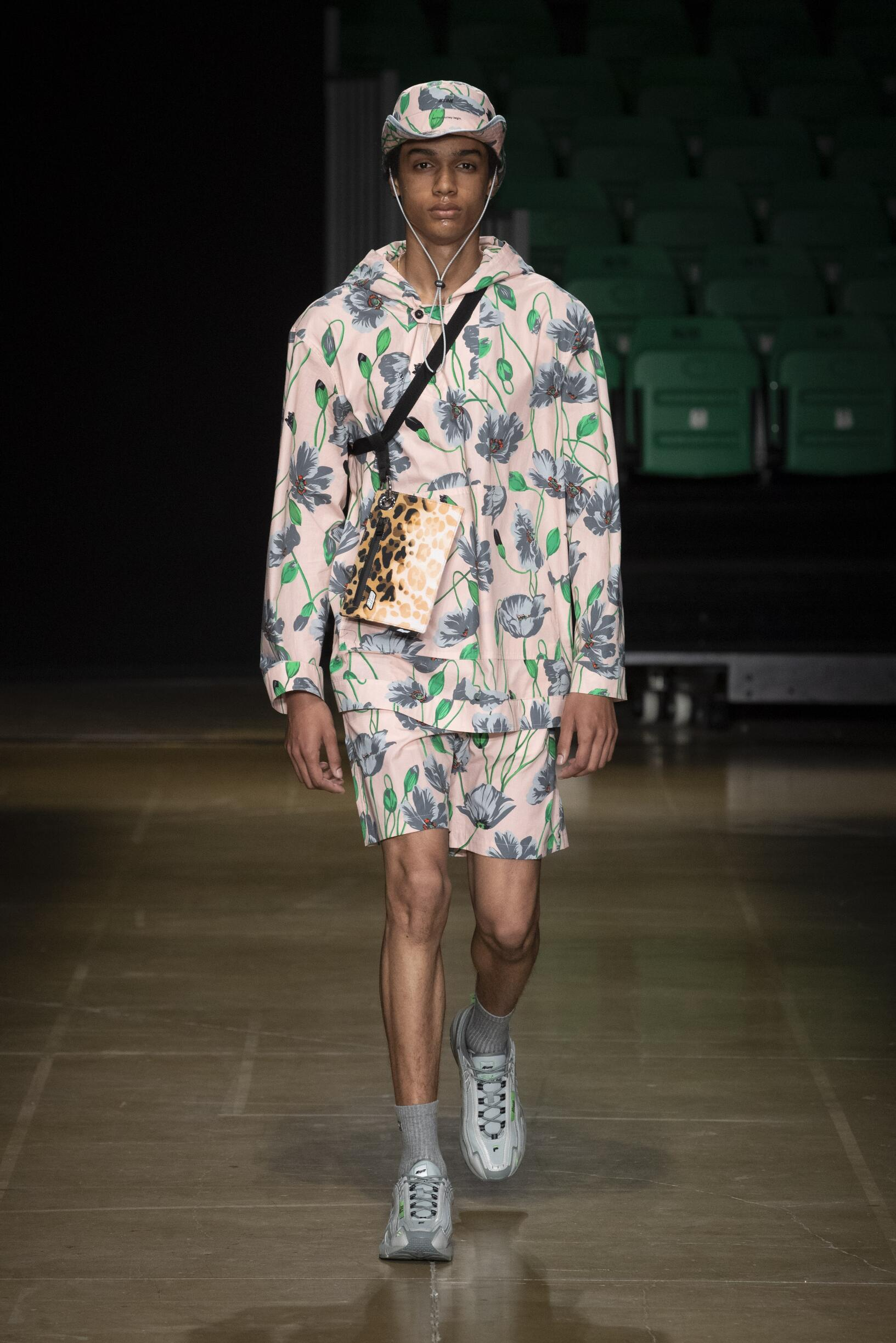 Catwalk MSGM Man Fashion Show Summer 2020