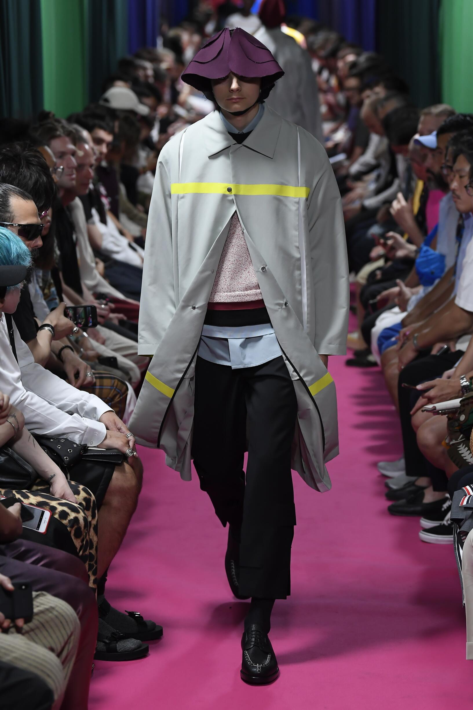 Catwalk Namacheko Man Fashion Show Summer 2020
