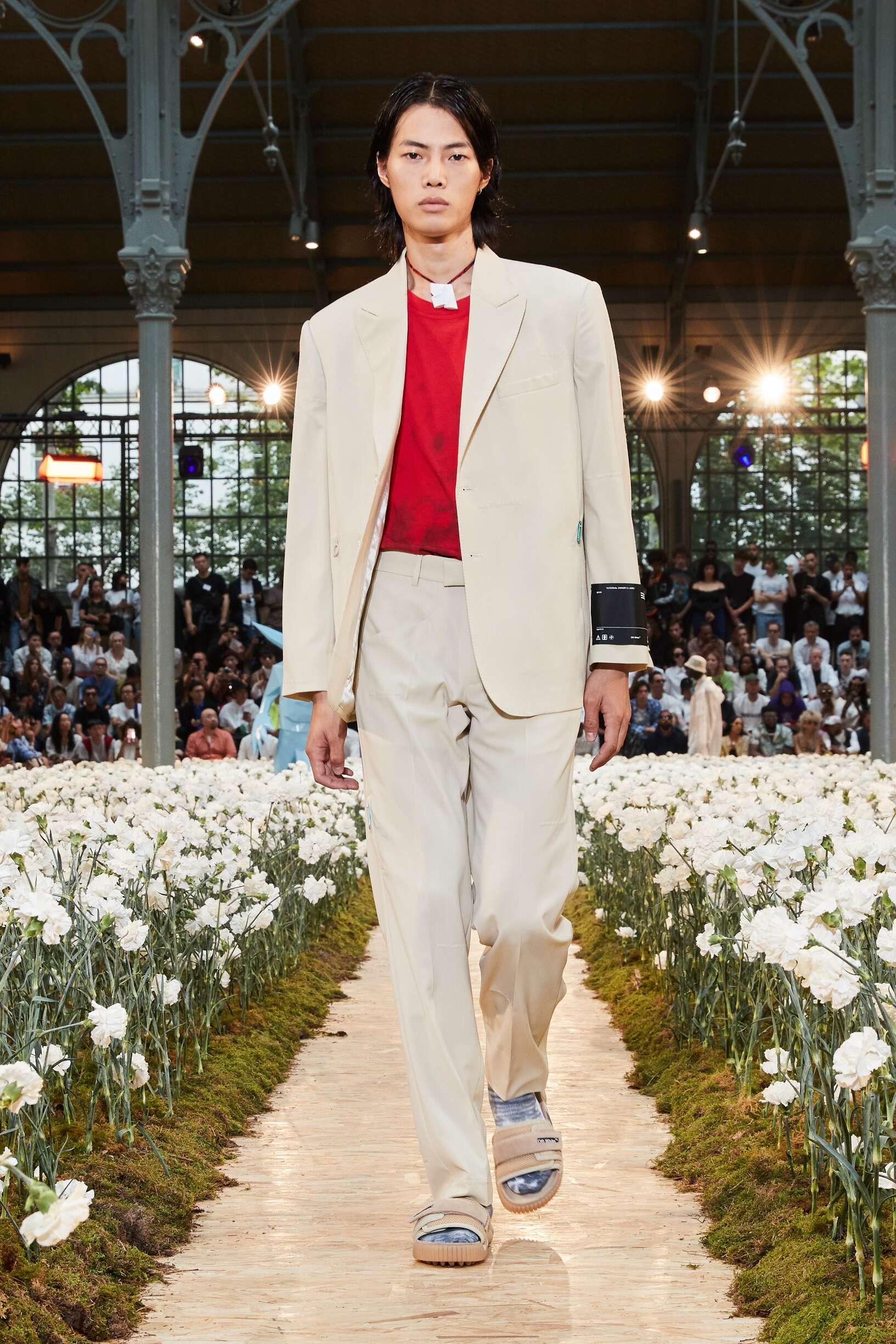 Catwalk Off White c/o Virgil Abloh Man Fashion Show Summer 2020