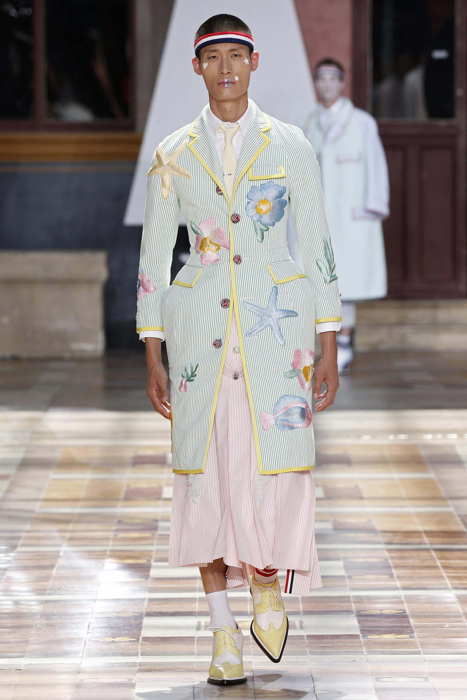 Catwalk Thom Browne Summer 2020