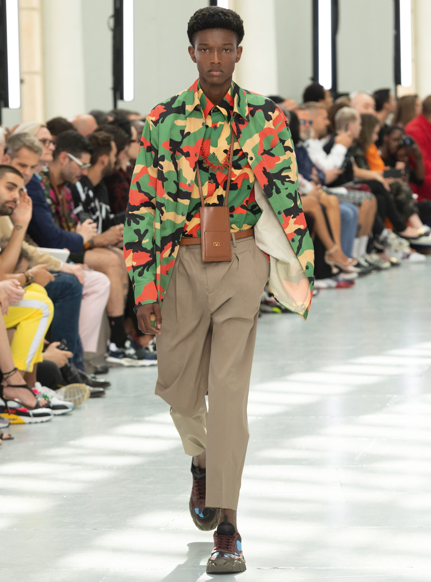 Catwalk Valentino Man Fashion Show Summer 2020