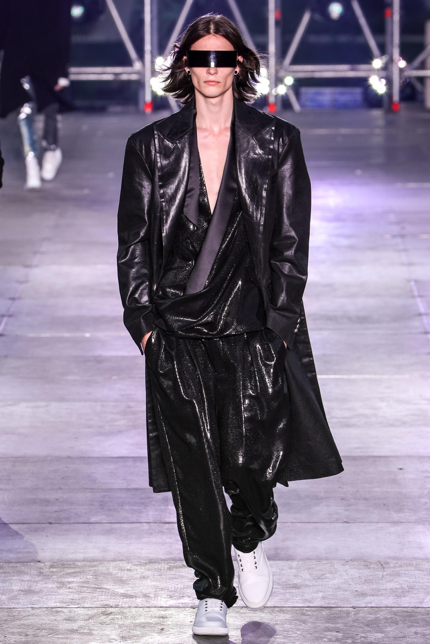 Fashion 2020 Catwalk Balmain Summer Man Collection
