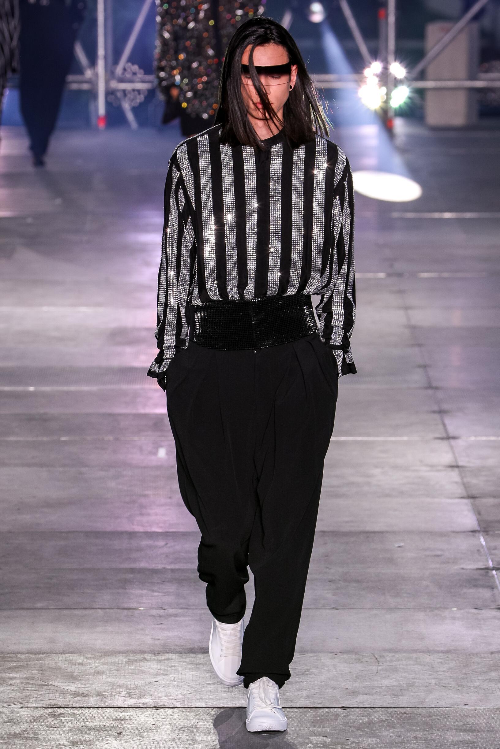 Fashion 2020 Catwalk Balmain Summer Mens Collection