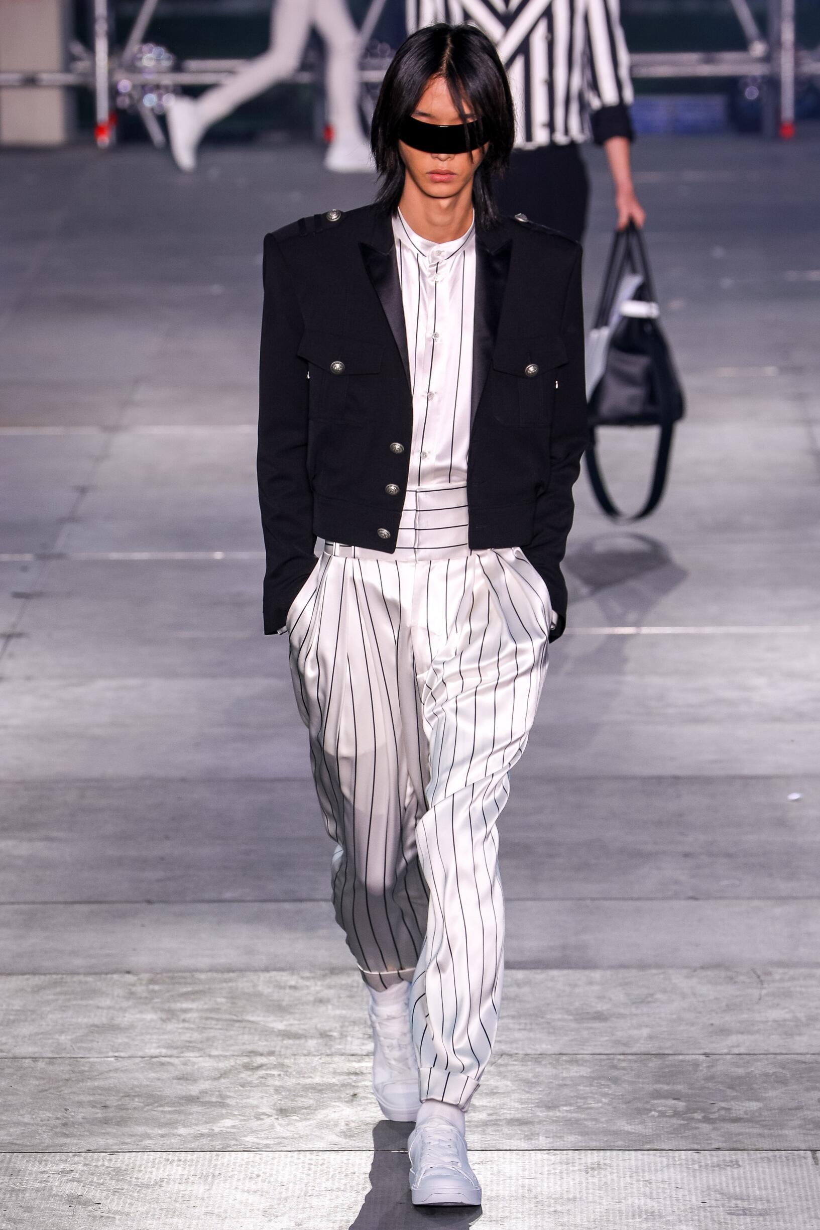 Fashion 2020 Catwalk Balmain