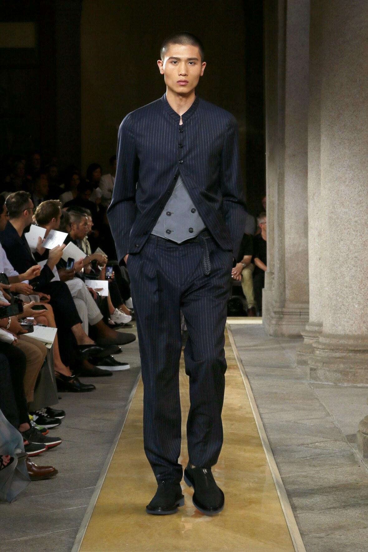 Fashion 2020 Catwalk Giorgio Armani Summer