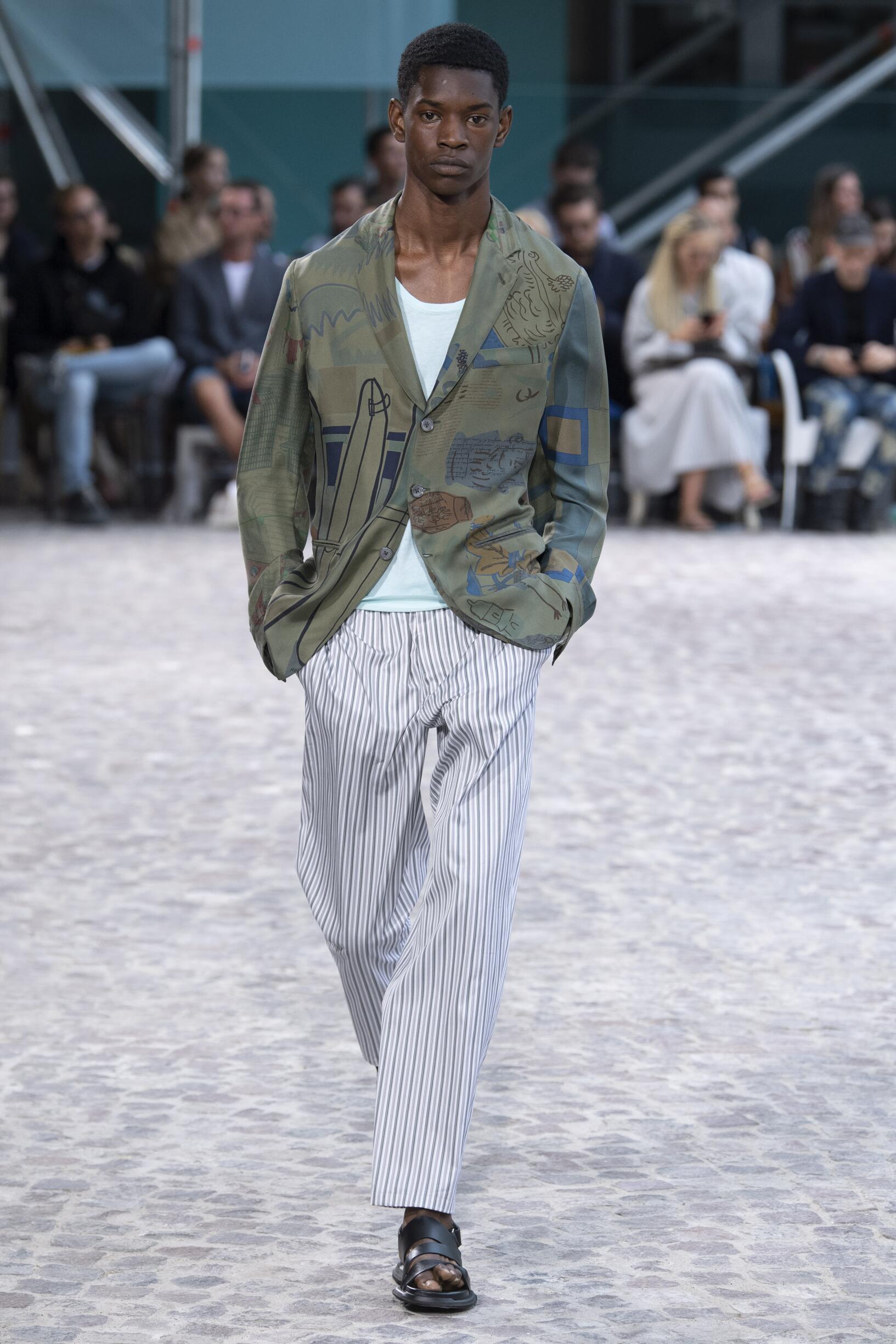 Fashion 2020 Catwalk Hermès Summer